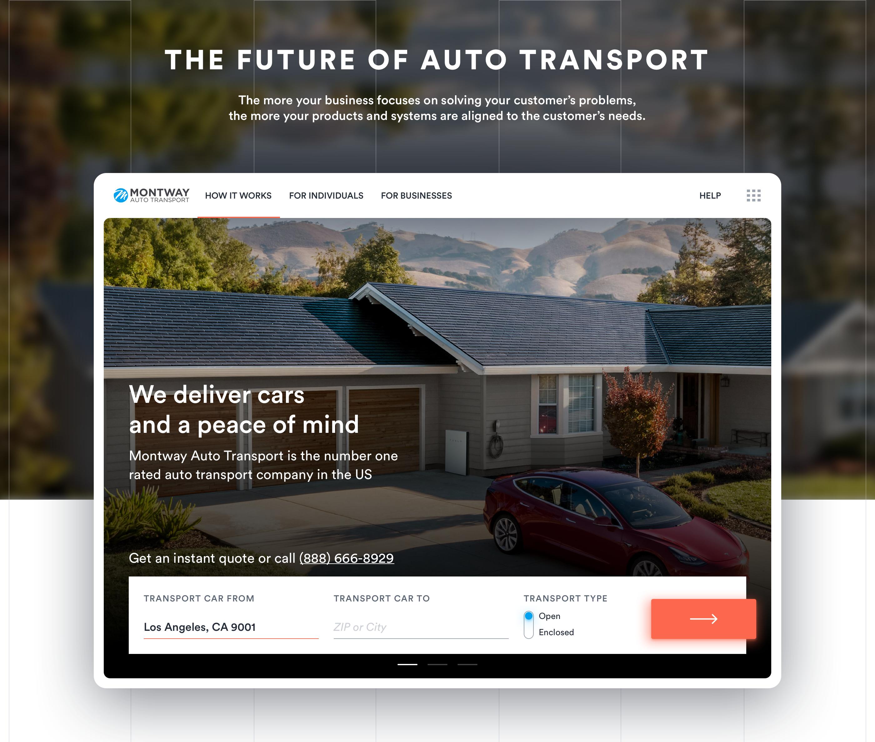 Montway Auto Transport on Behance