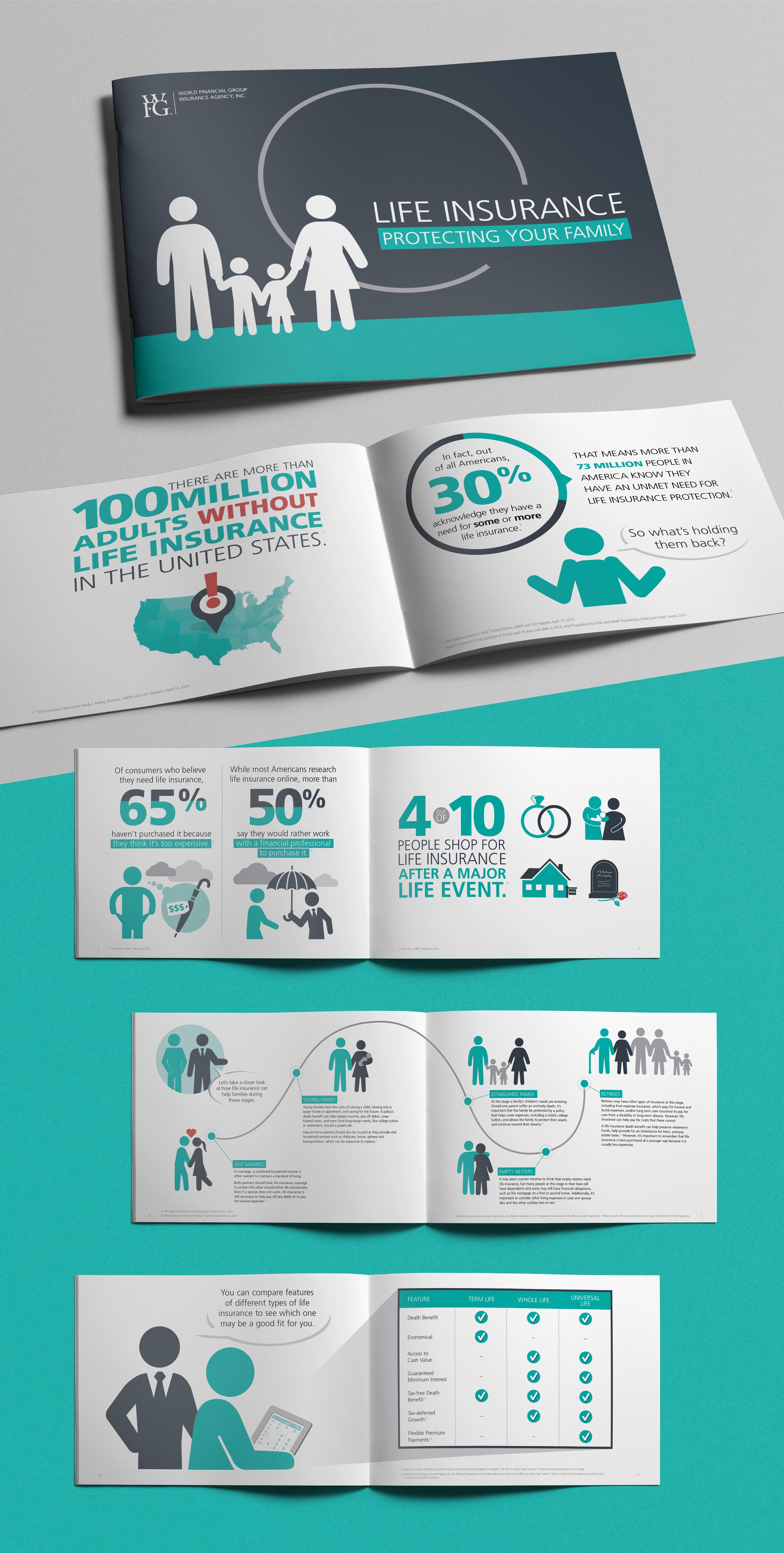 Life Insurance Brochure on Behance