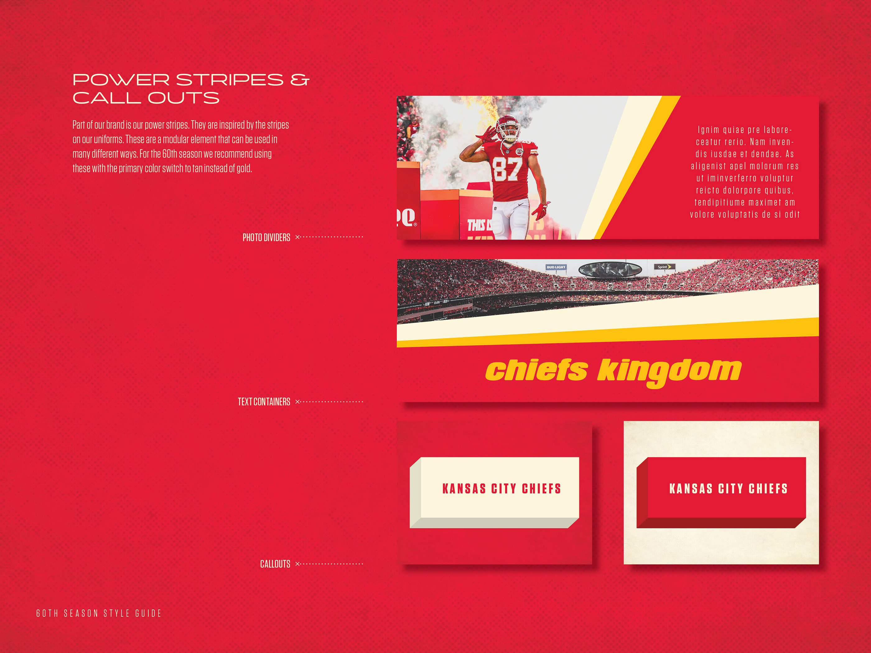 Chiefs 60th Season Logo Style Guide On Behance,Design Your Own Apron