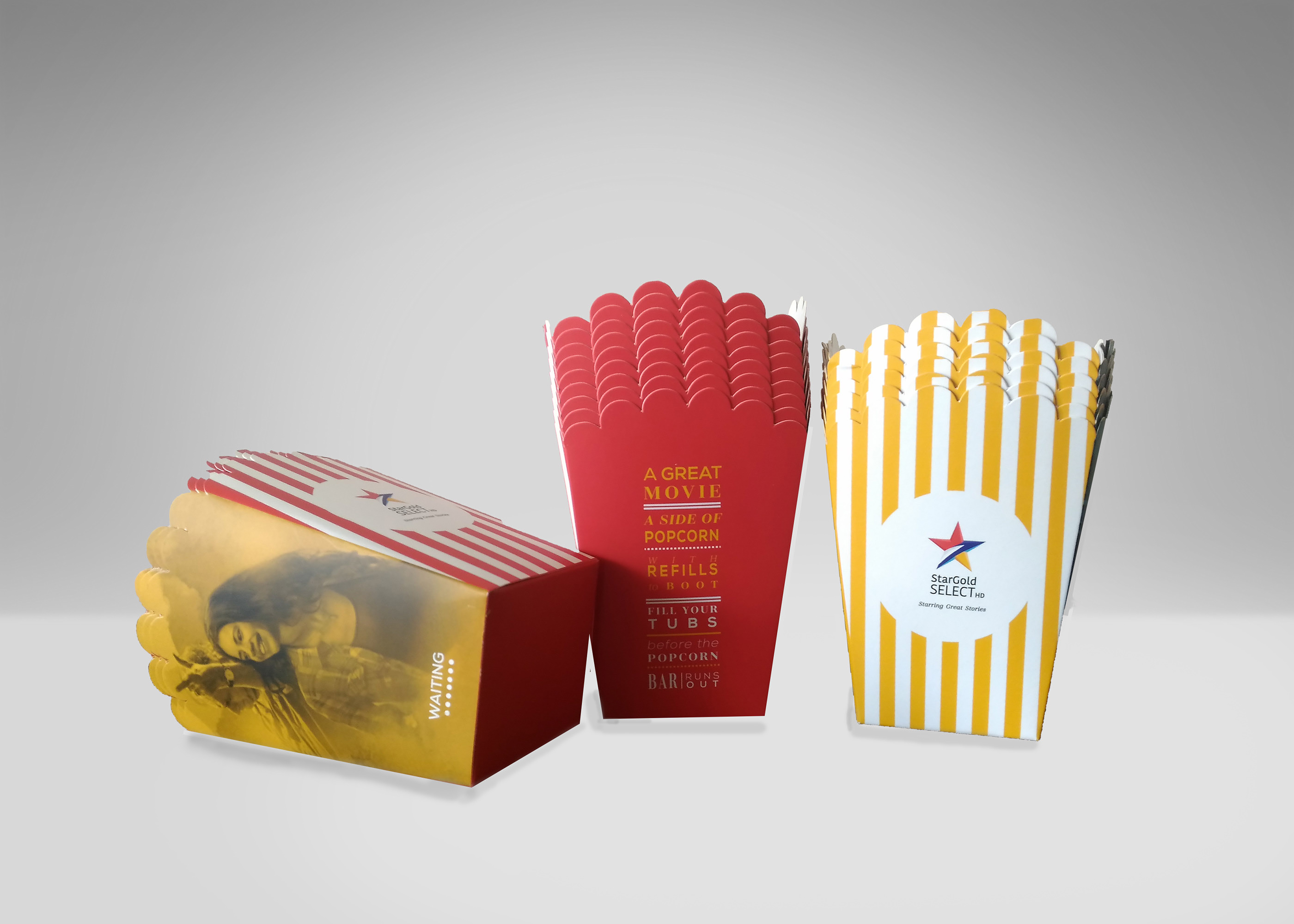 Branded Elements For StarGold Select Launch on Behance