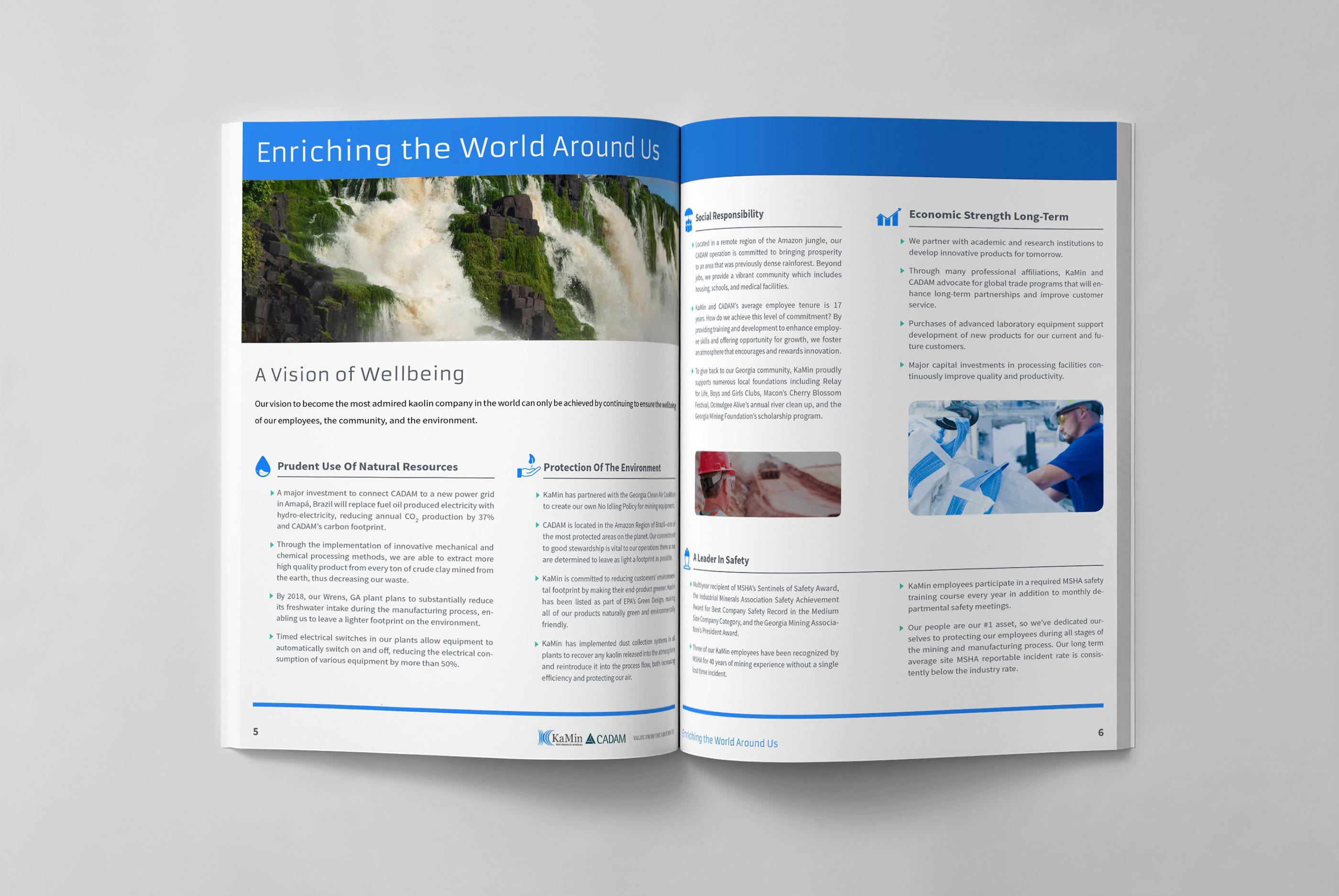 Kamin Cadam Brochure On Behance