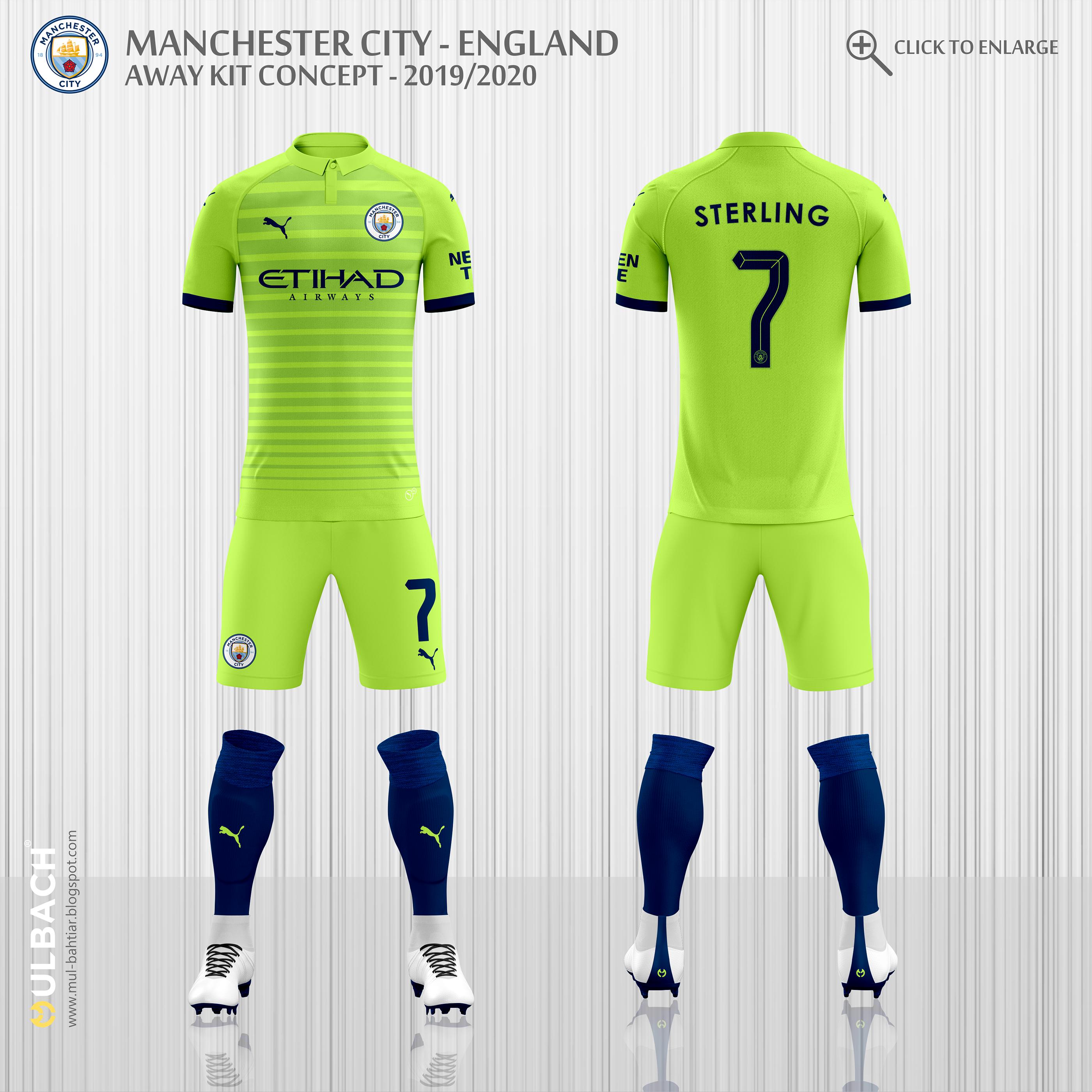 Manchester City 2019/2020 Puma Kits Concept on Behance