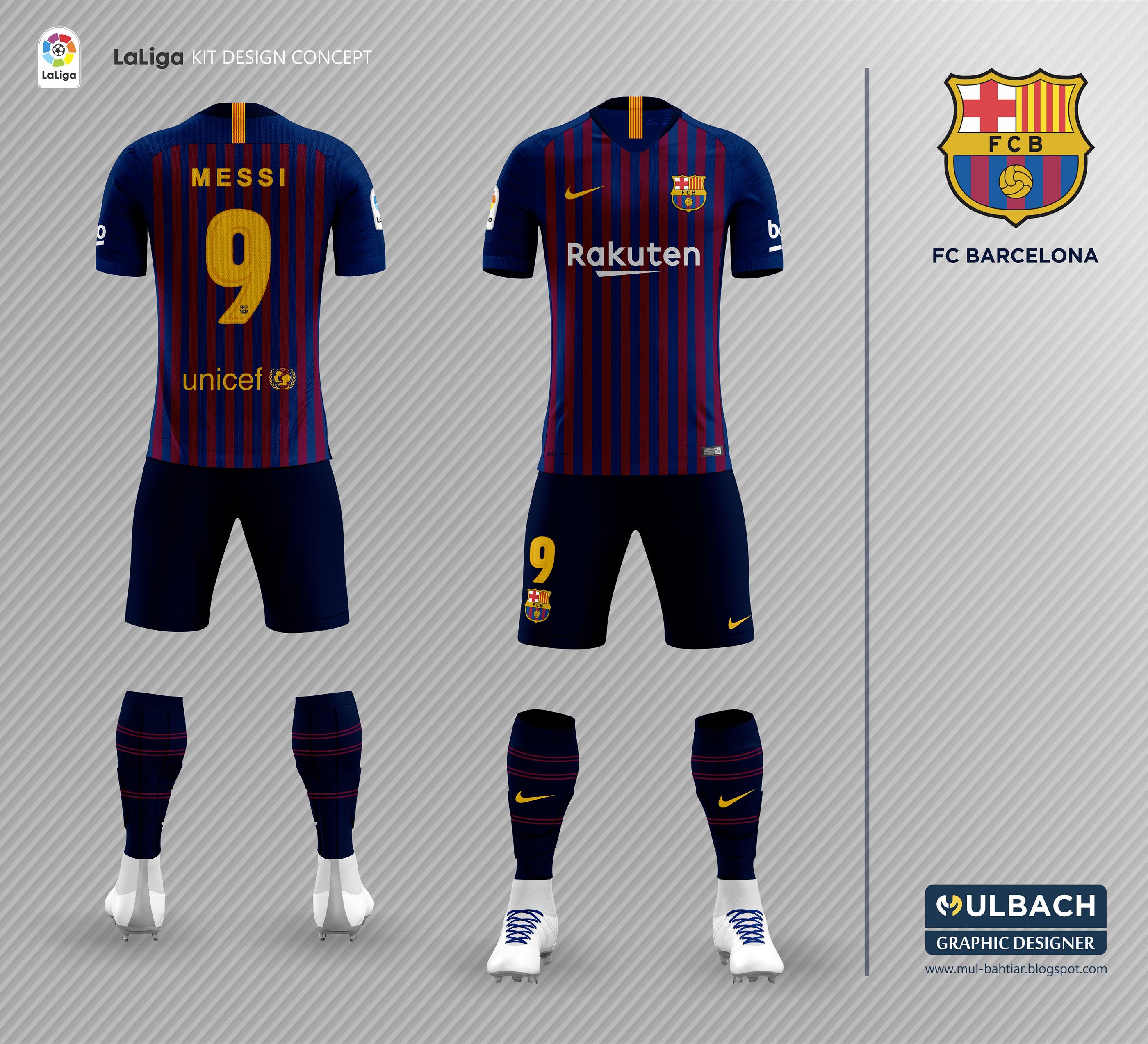 b70df103b Barcelona 2018 2019 Kit Leaked on Behance