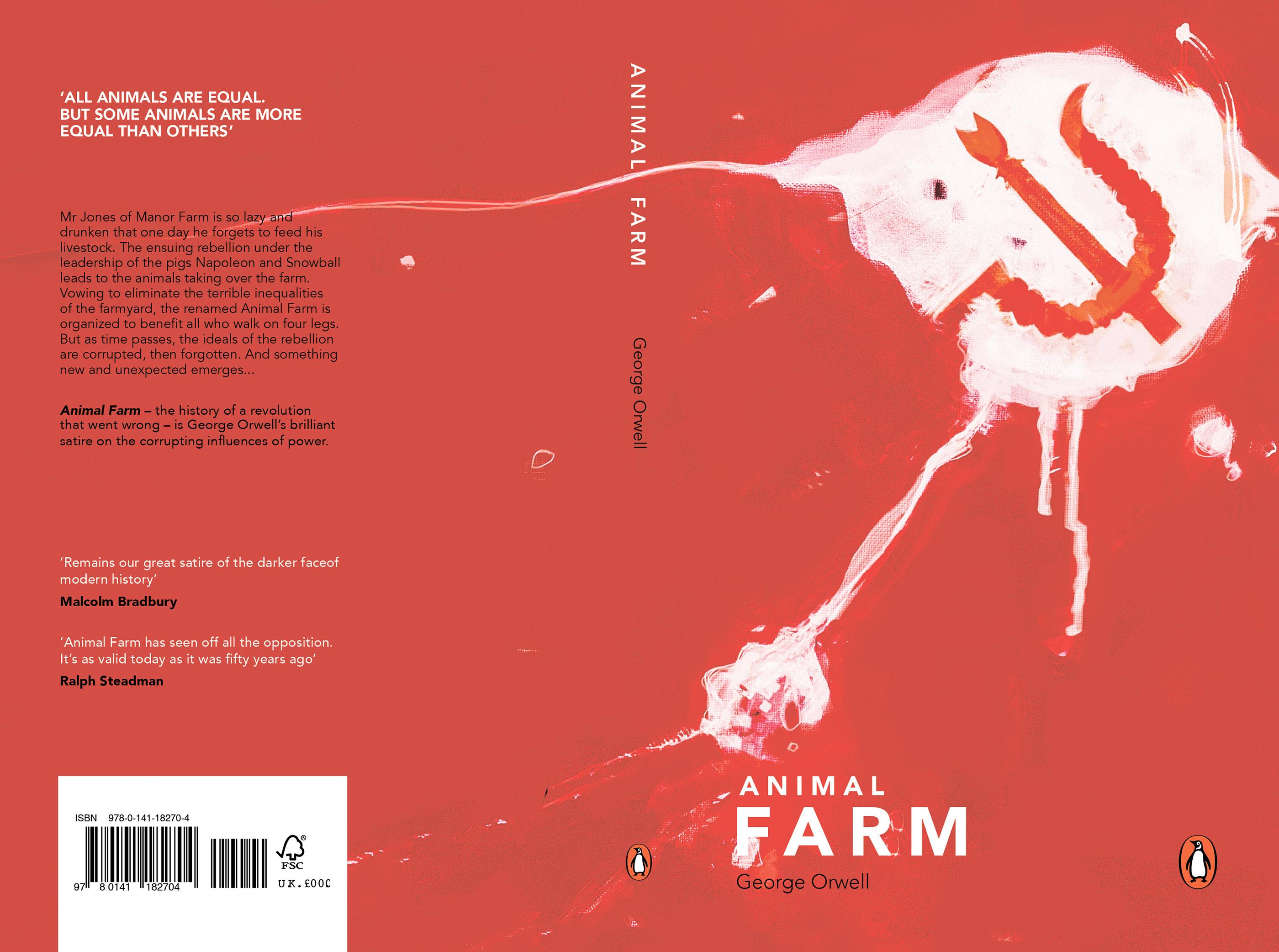 Animal Farm George Orwell On Behance