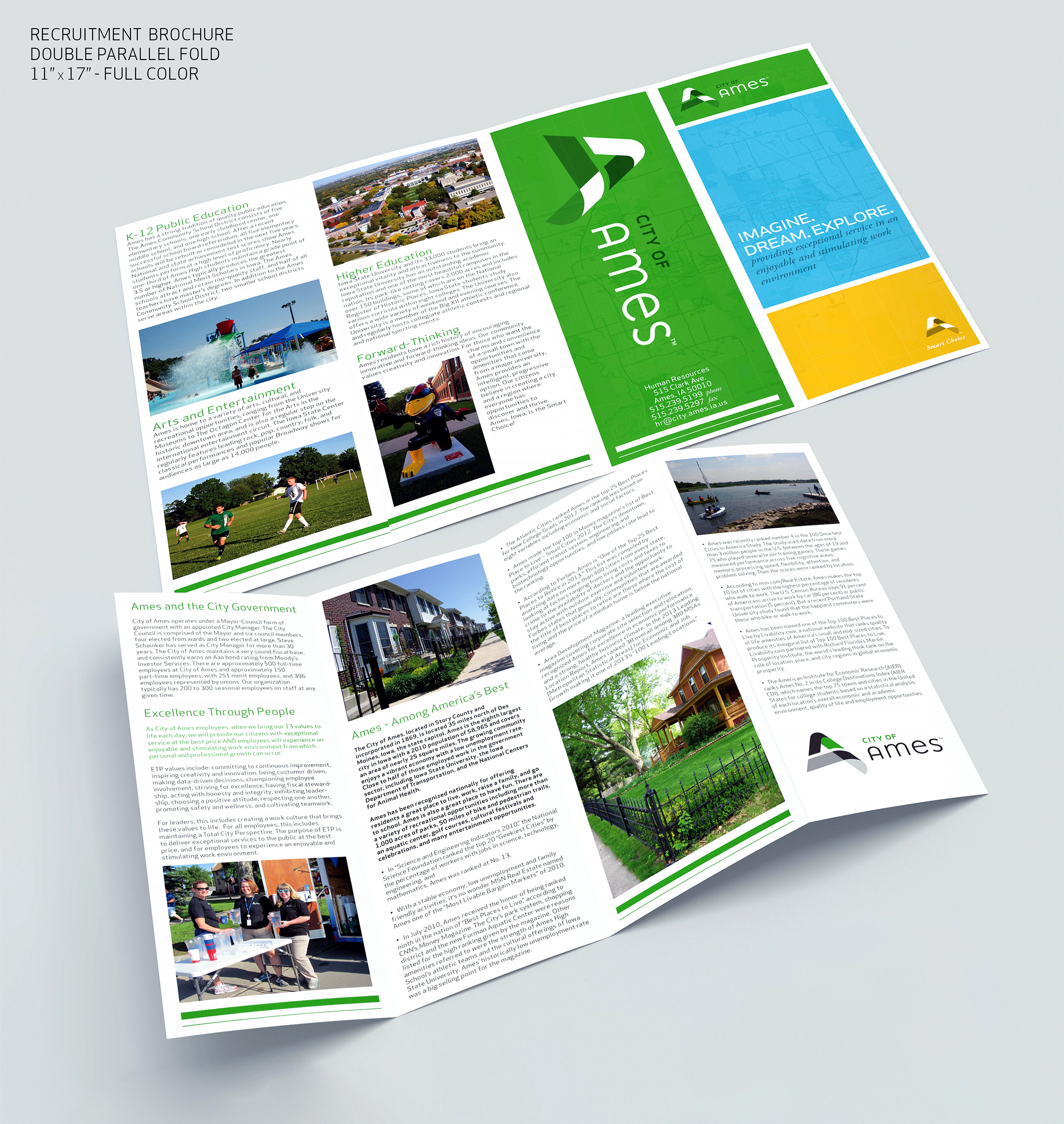 Recruitment Brochure on Behance