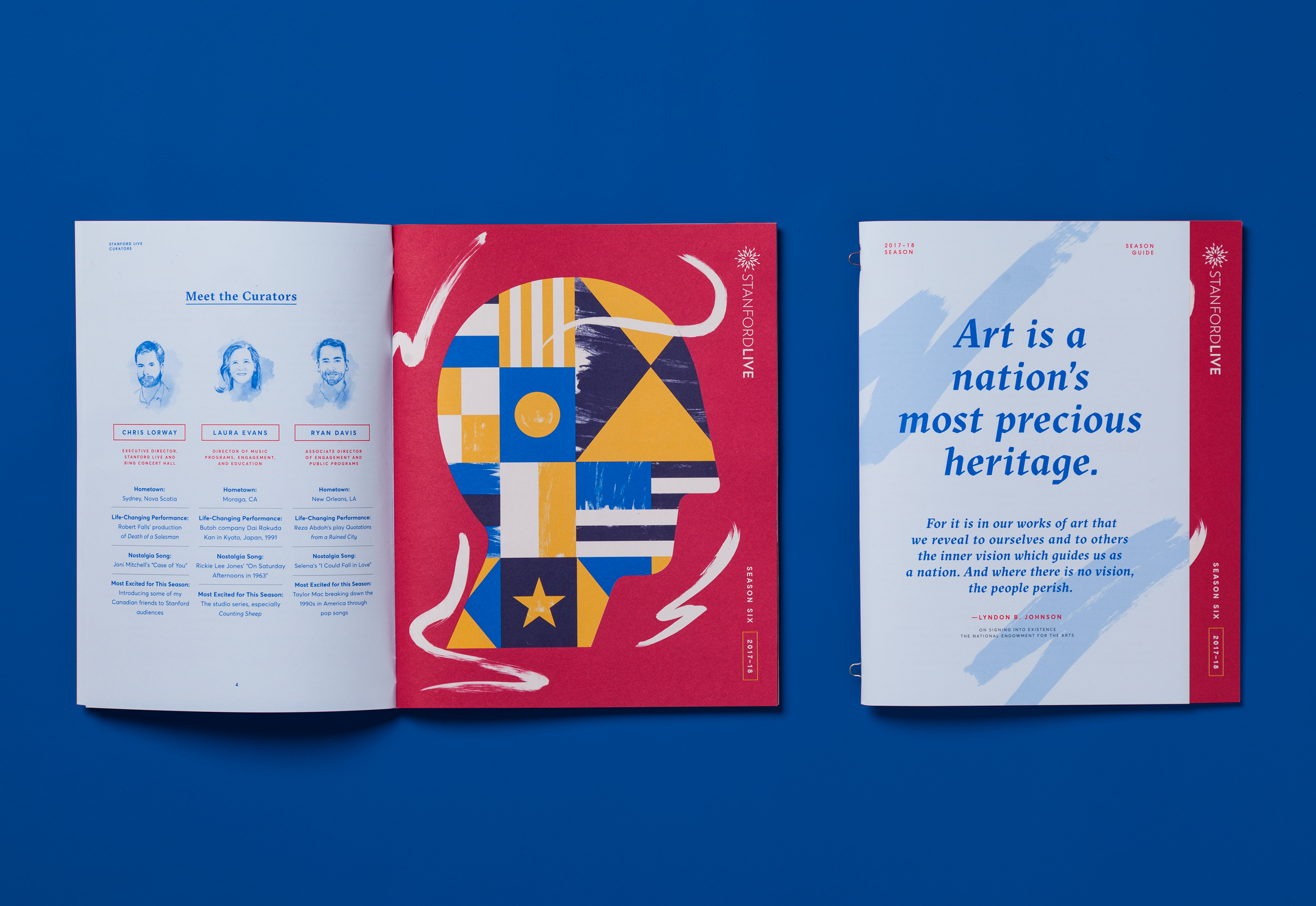 Stanford Live Season 6 Brochure on Behance