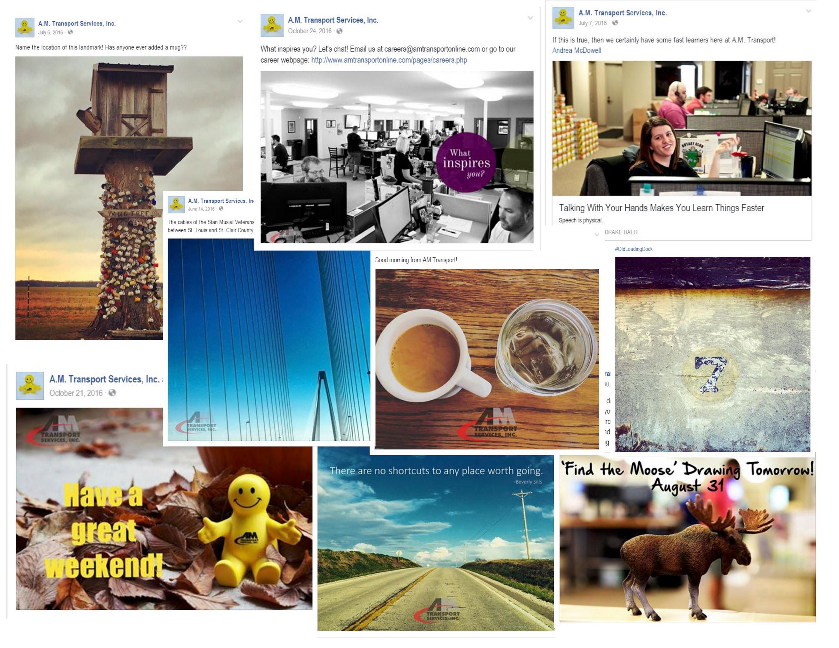 SOCIAL MEDIA POSTS on Behance