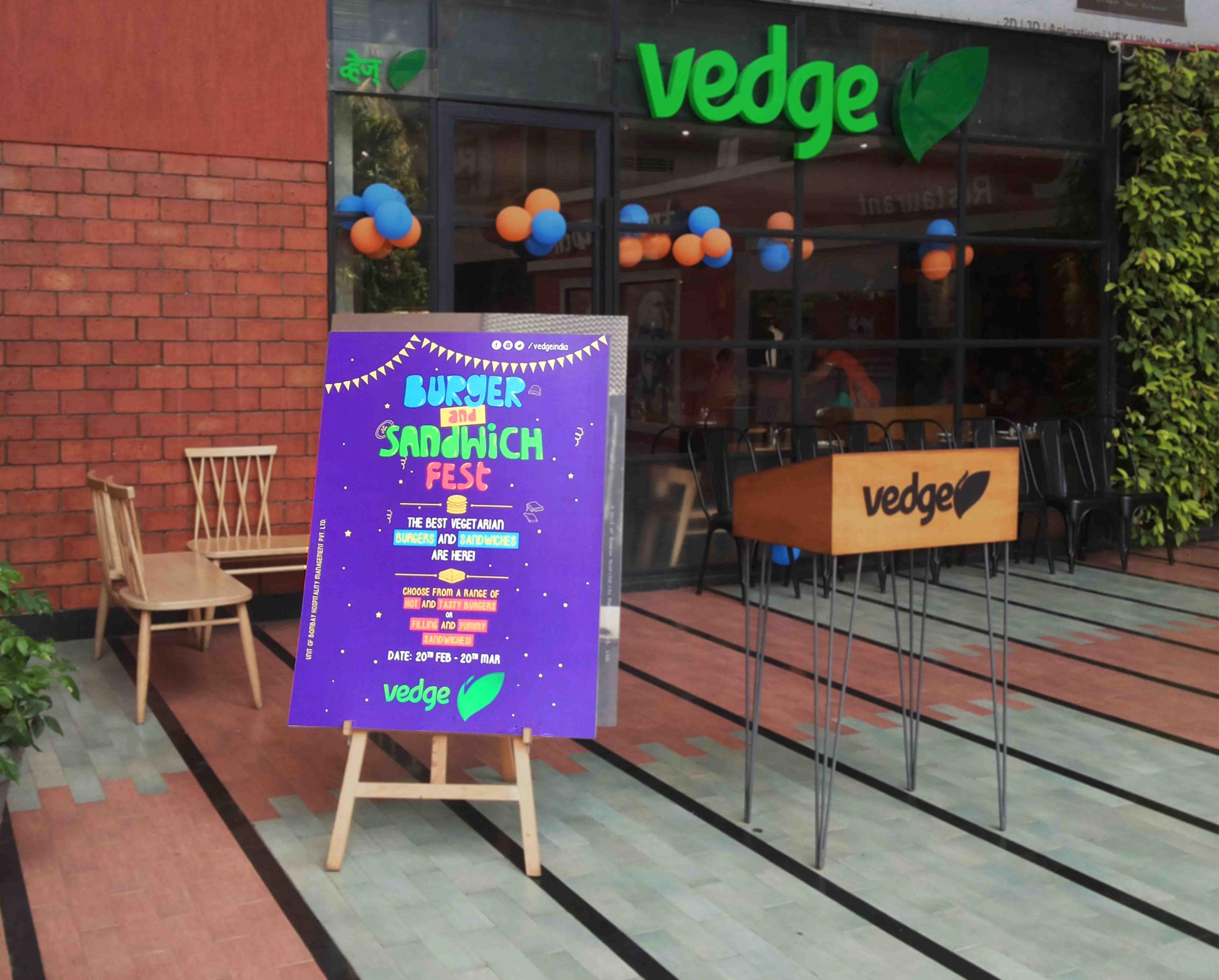Burger & Sandwich Fest :: Vedge Restaurant on Behance