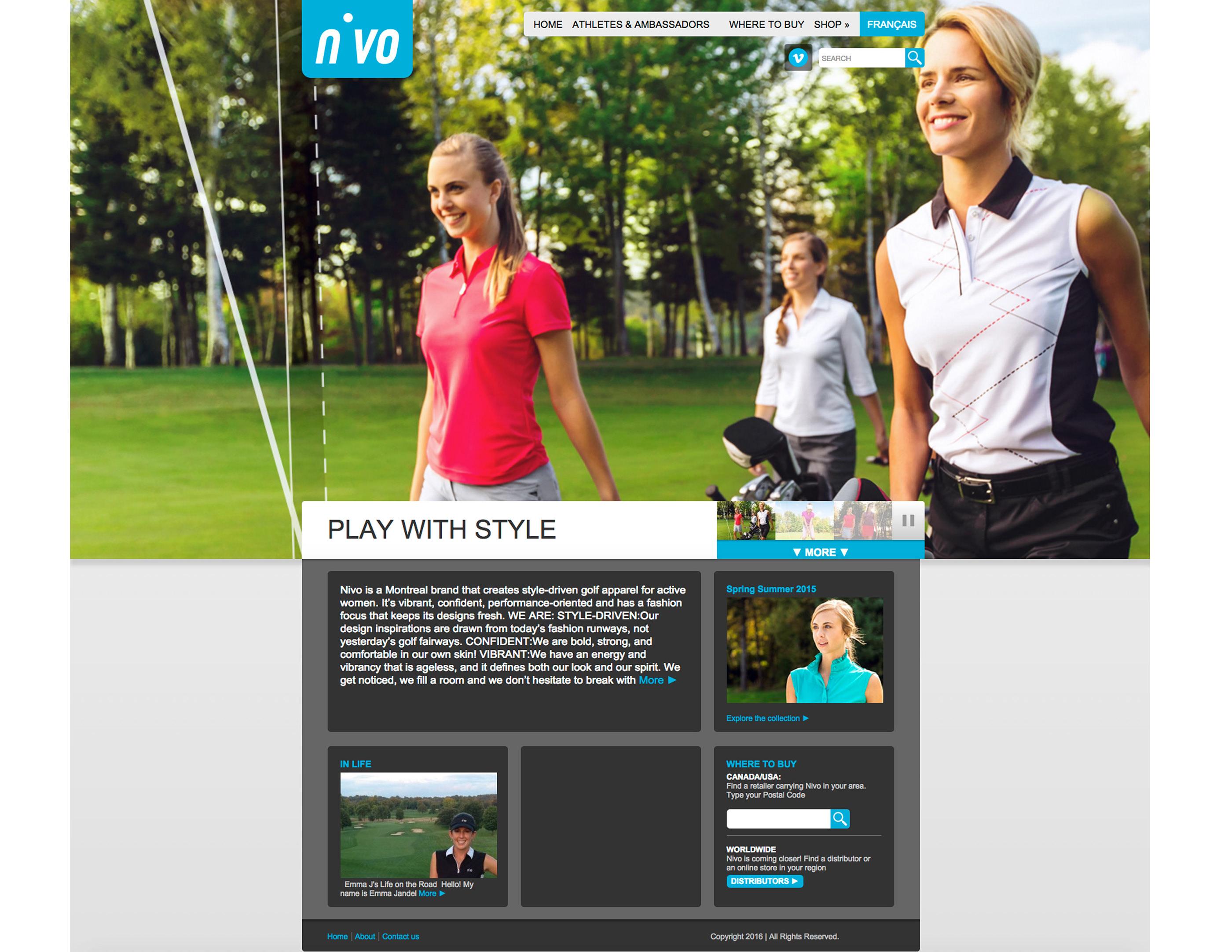 NIVO WEB DESIGN on Behance