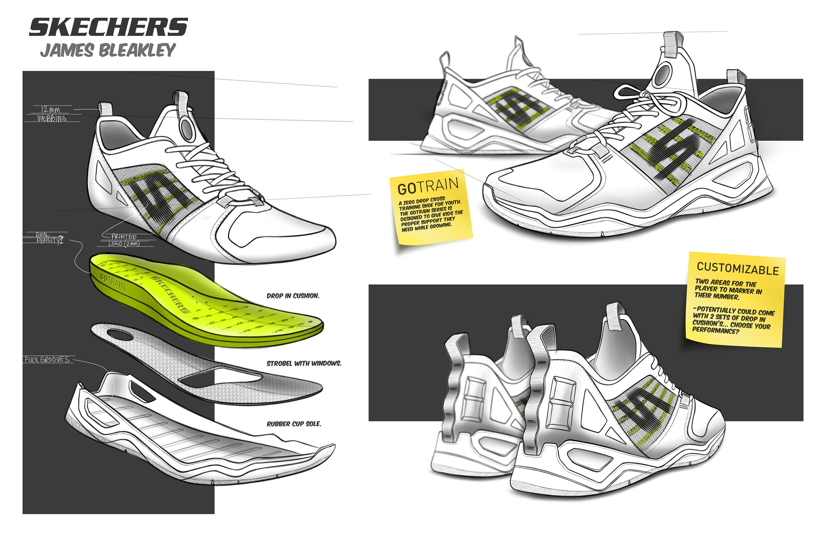 Skechers GOTRAIN: Youth Training Shoe