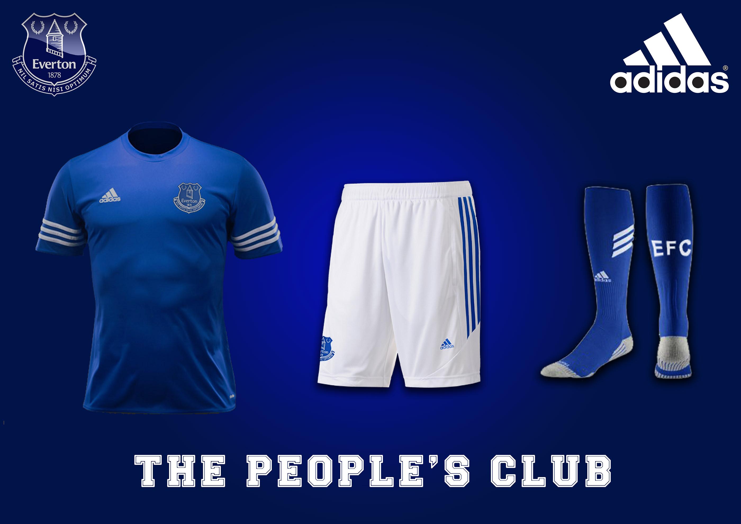 reputable site aed86 54531 Everton Football Club - Adidas sponsor on Behance