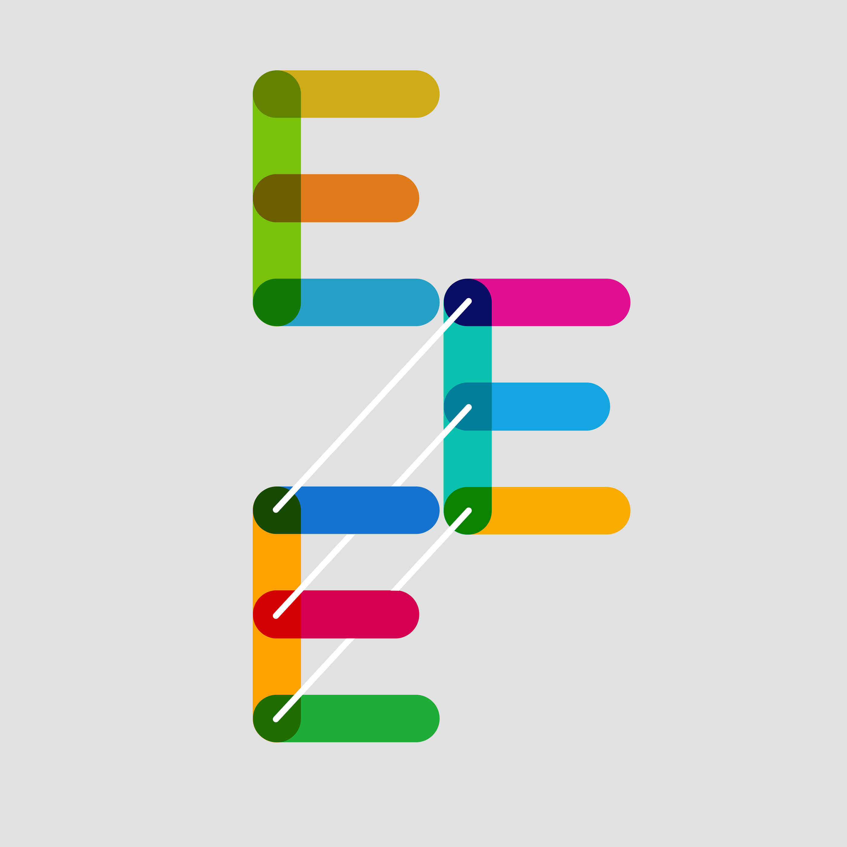 Multicolore FREE SVG Font on Behance