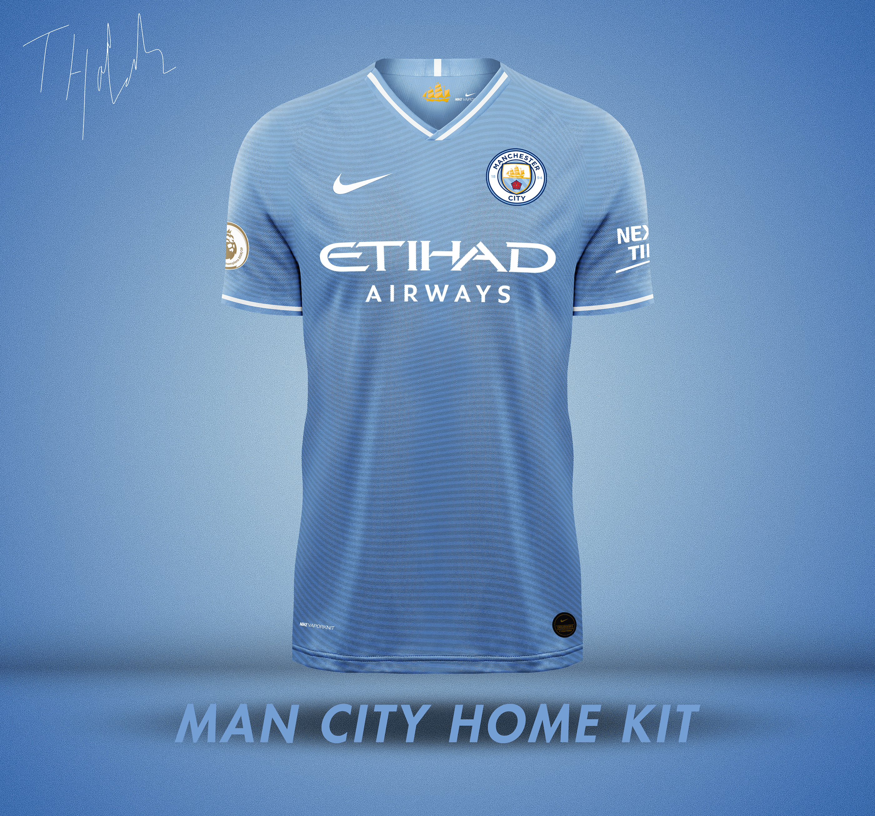 Nike X Man City Kit Concept On Behance