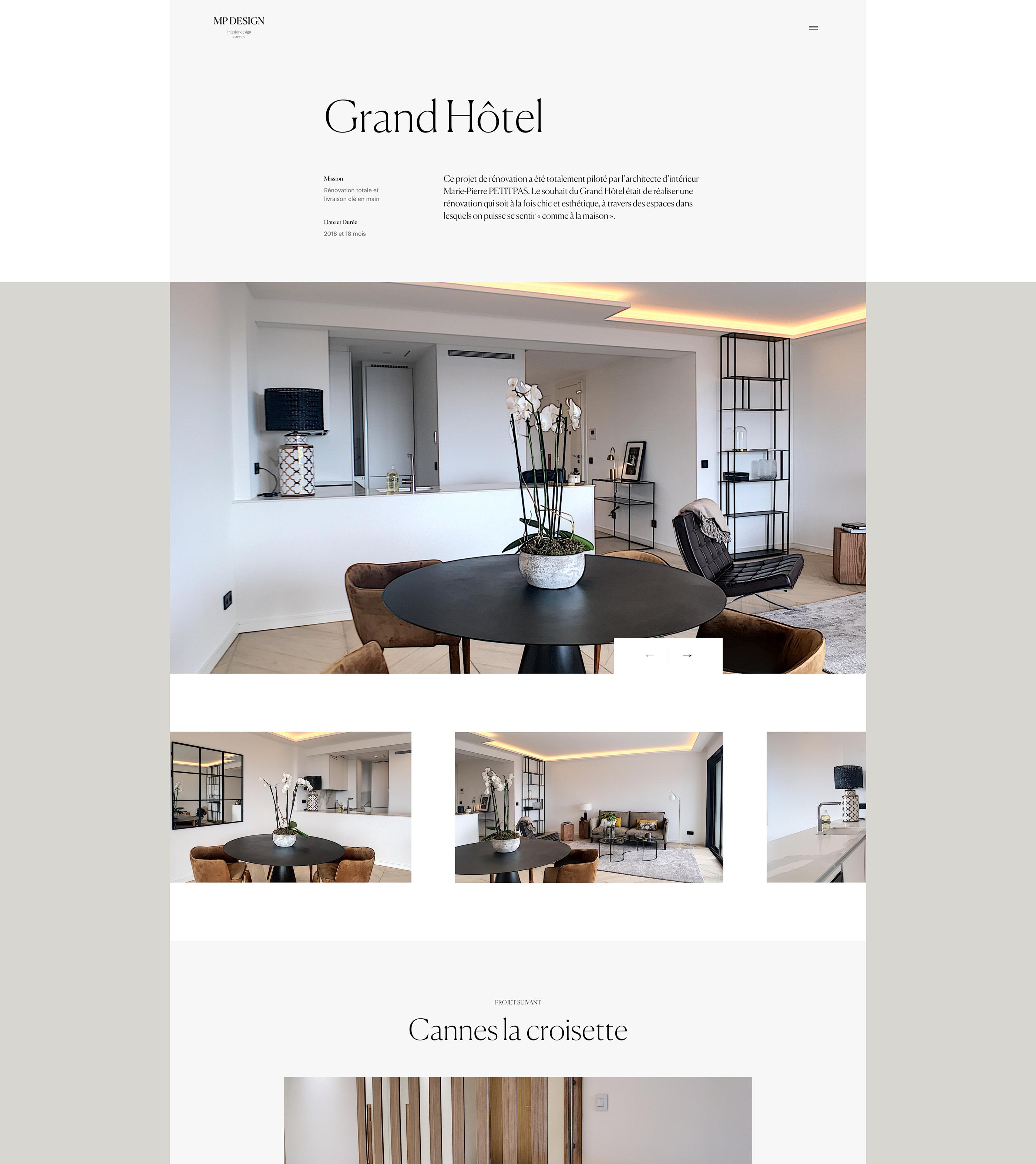 Architecte D Intérieur Cannes mp design on behance