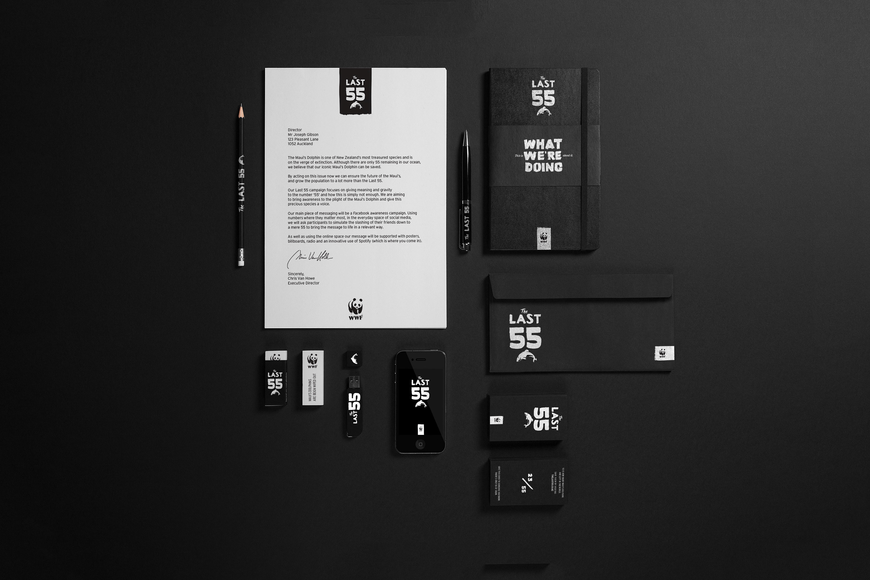 WWF The Last 55 on Behance