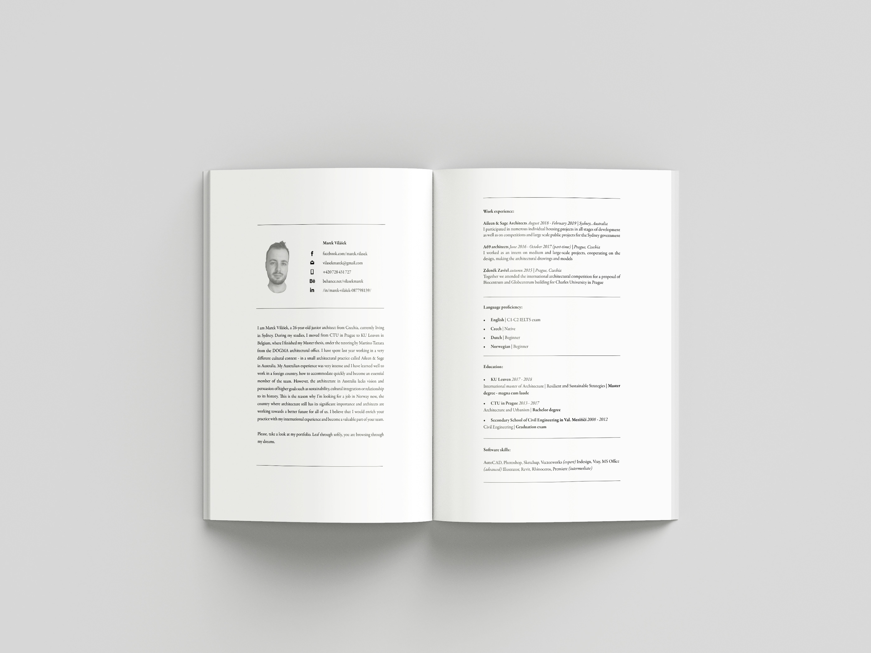 Portfolio 2019 on Behance