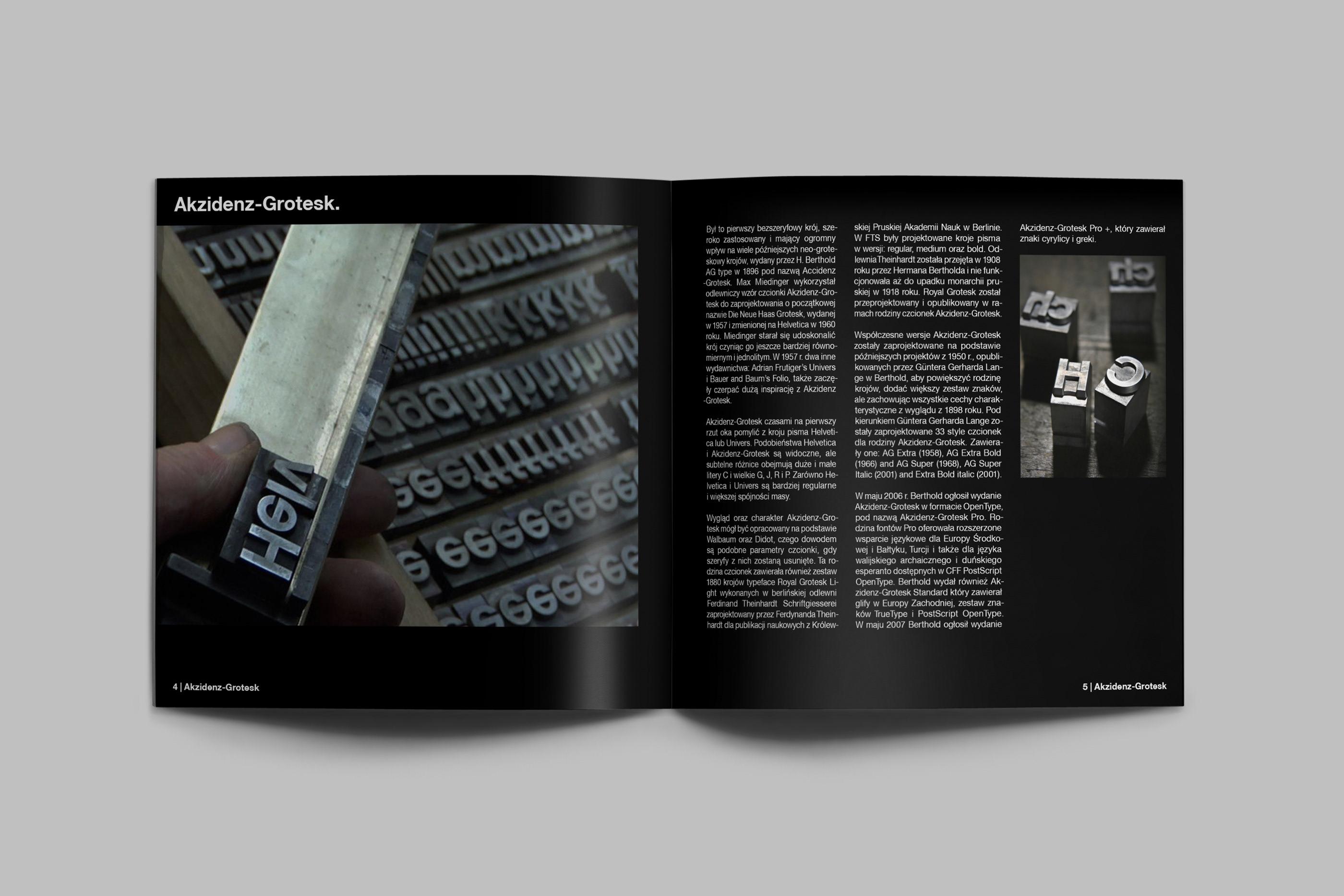Helvetica Black Album on Behance