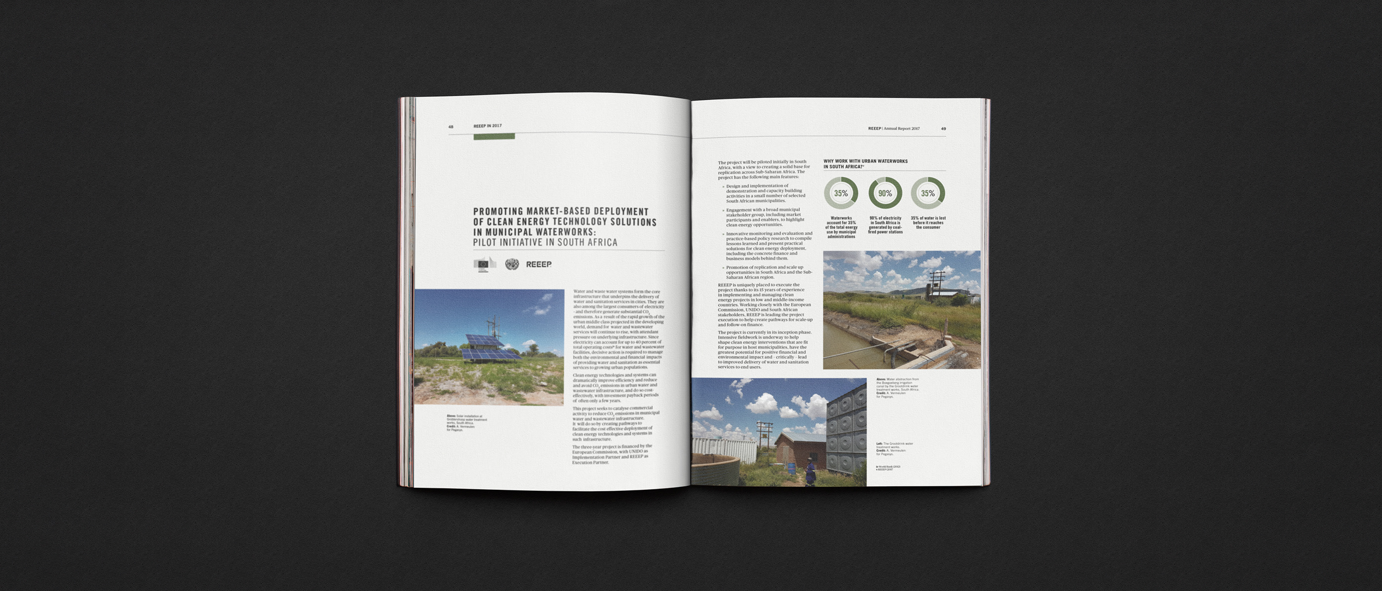 REEEP Annual Report 2017 on Behance