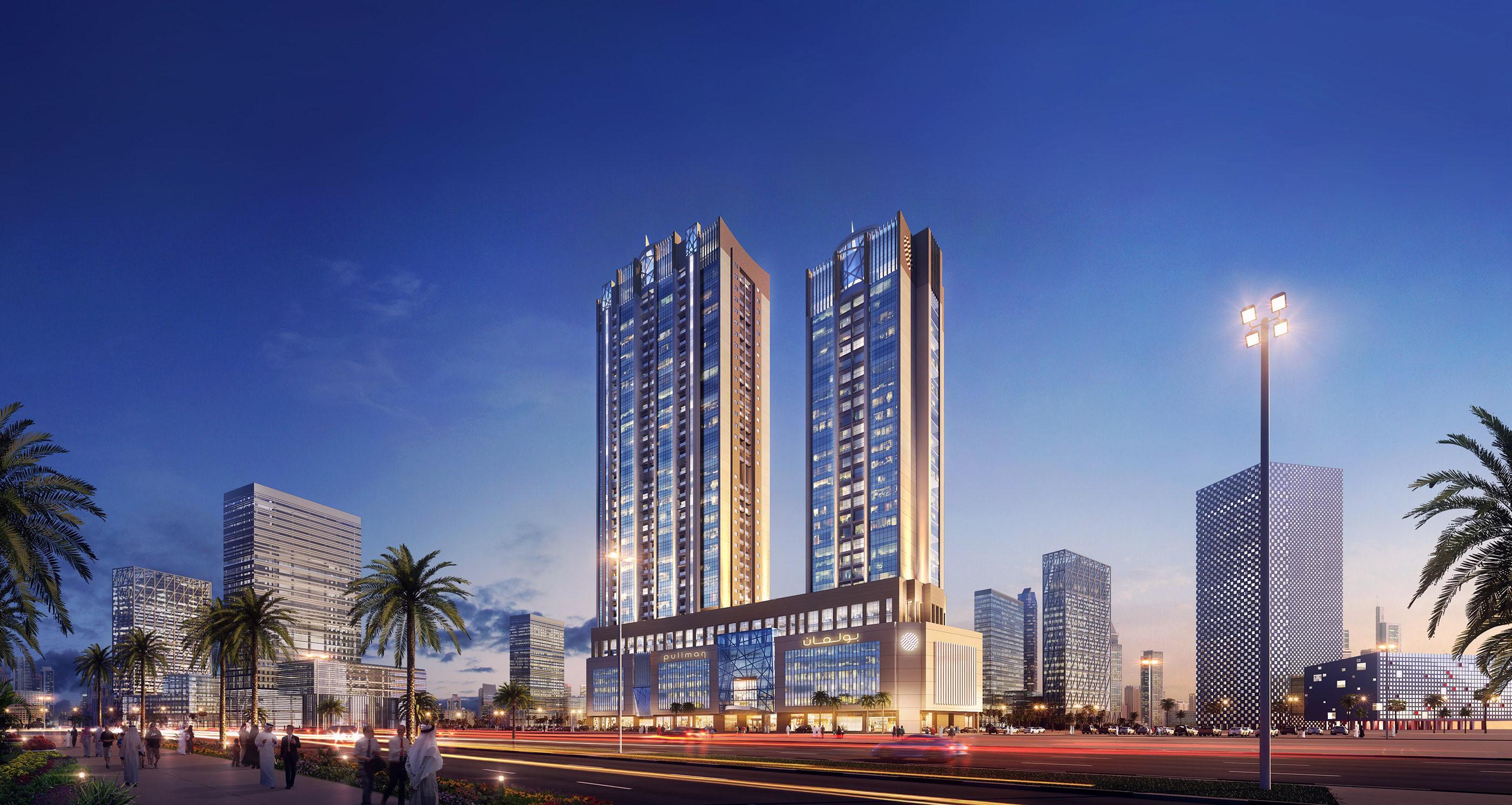 Pullman Hotel & Apartments, Sharjah on Behance