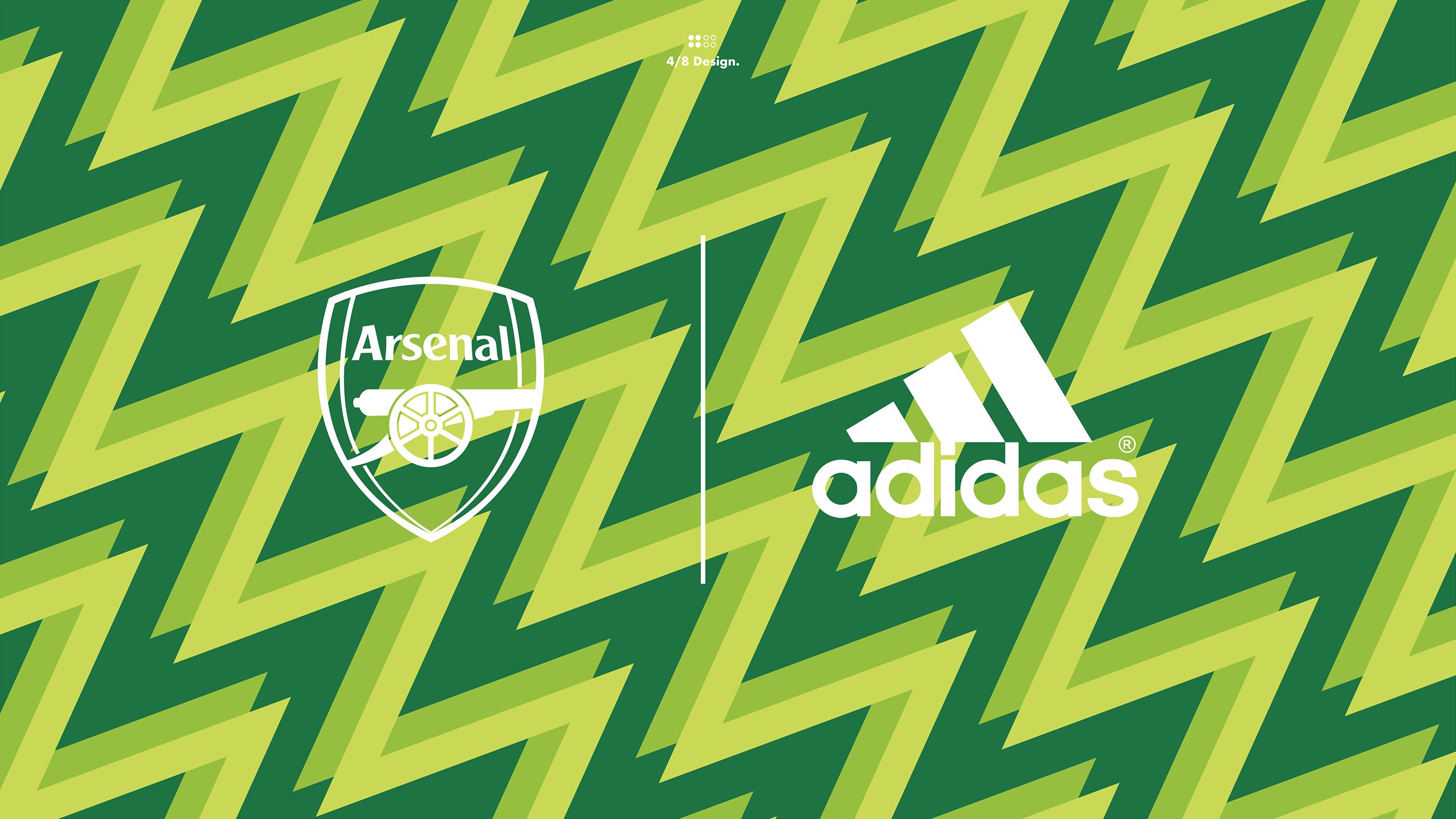 adidas x arsenal wallpaper on behance
