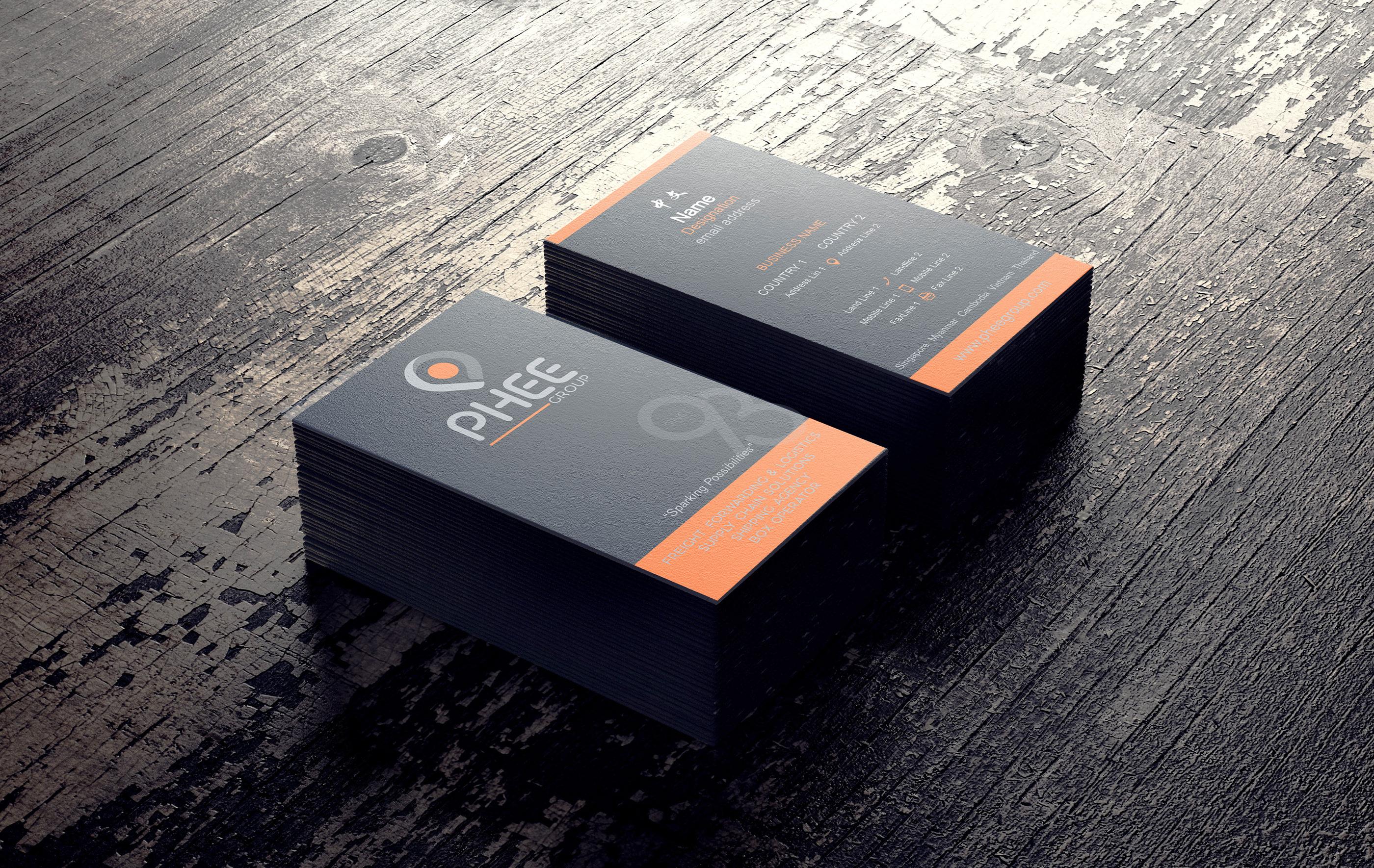 Phee Group - Corporate Branding on Behance