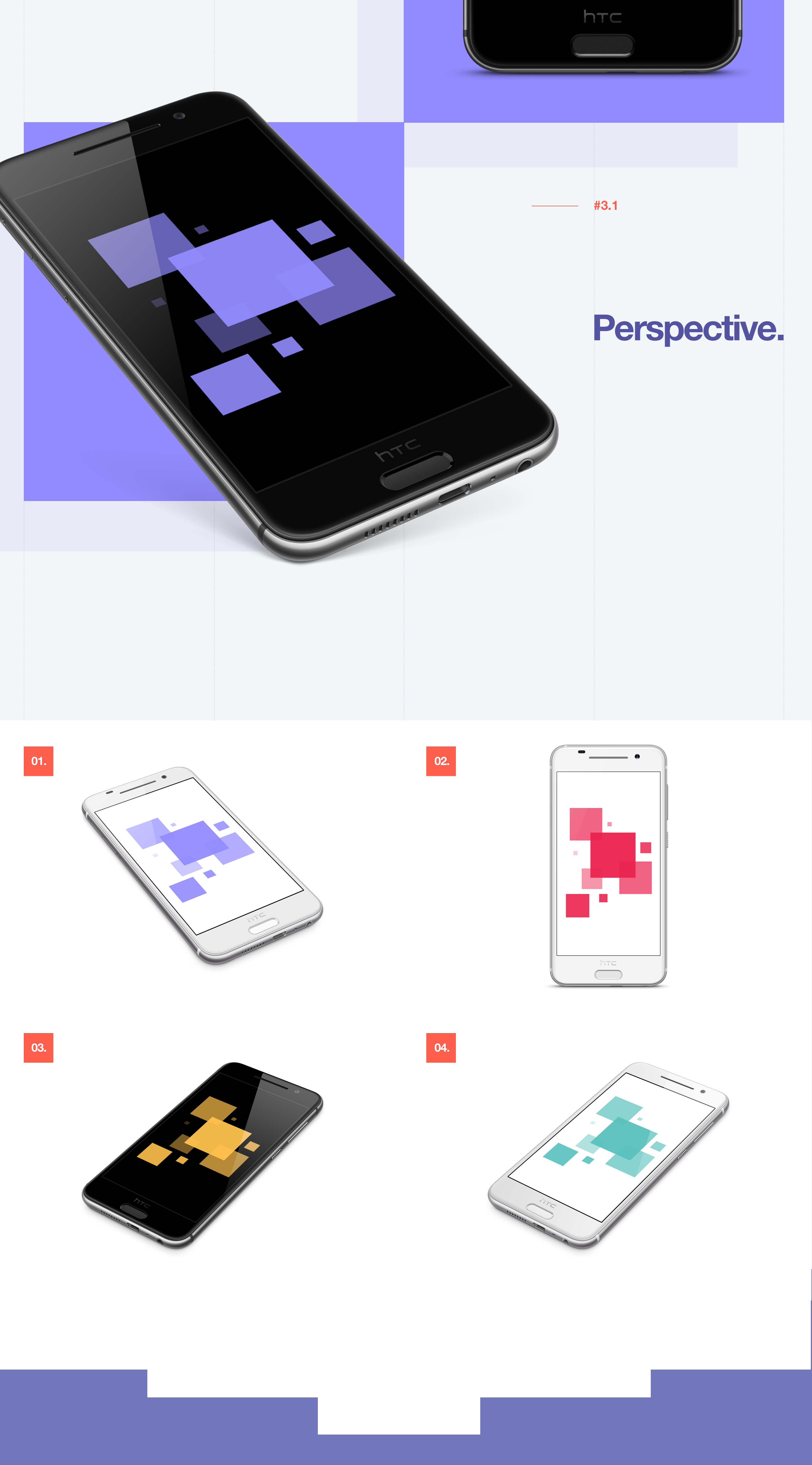 Android Mockups [PSD] on Behance