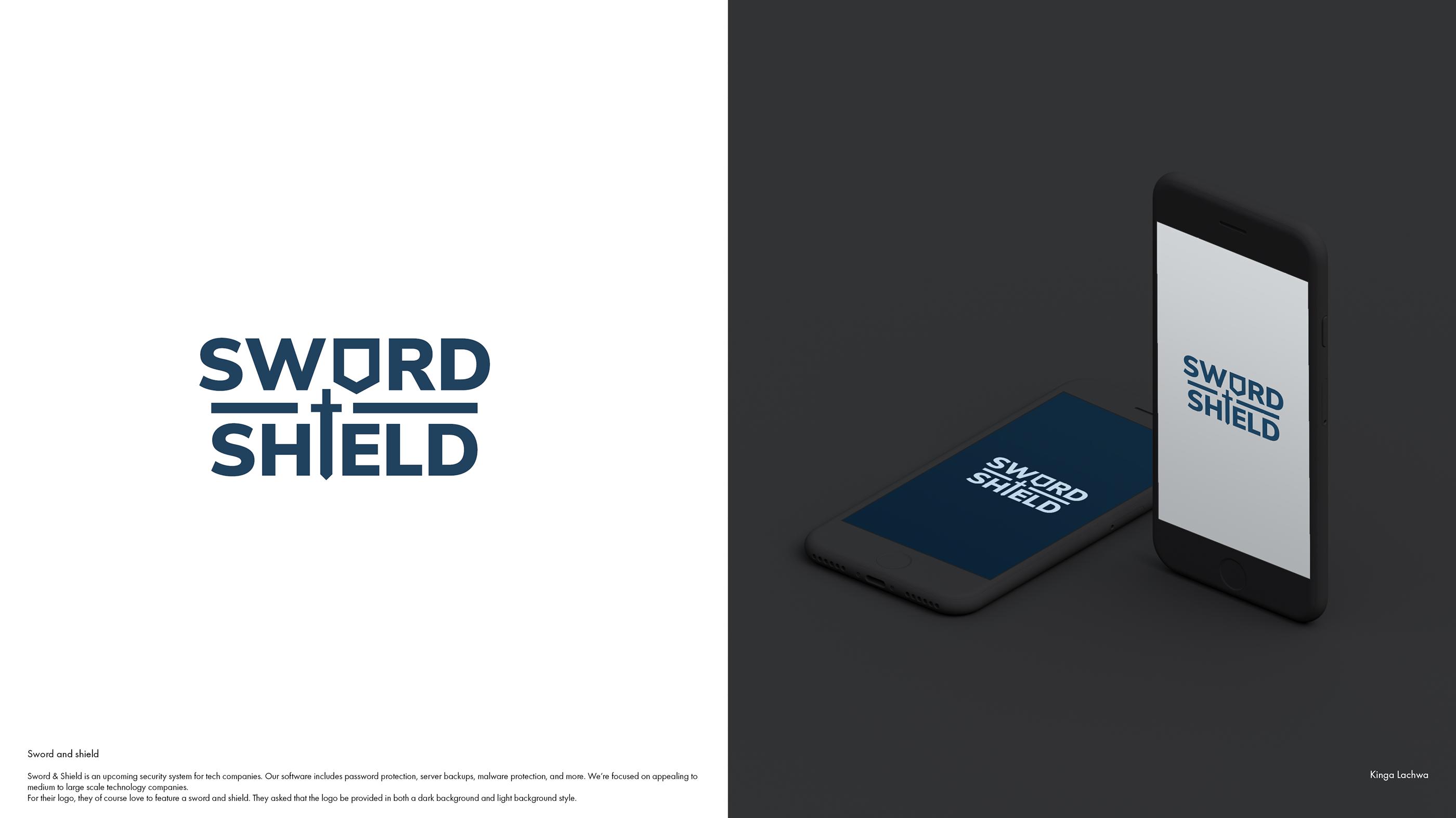 Sword and Shield - Logo on Behance