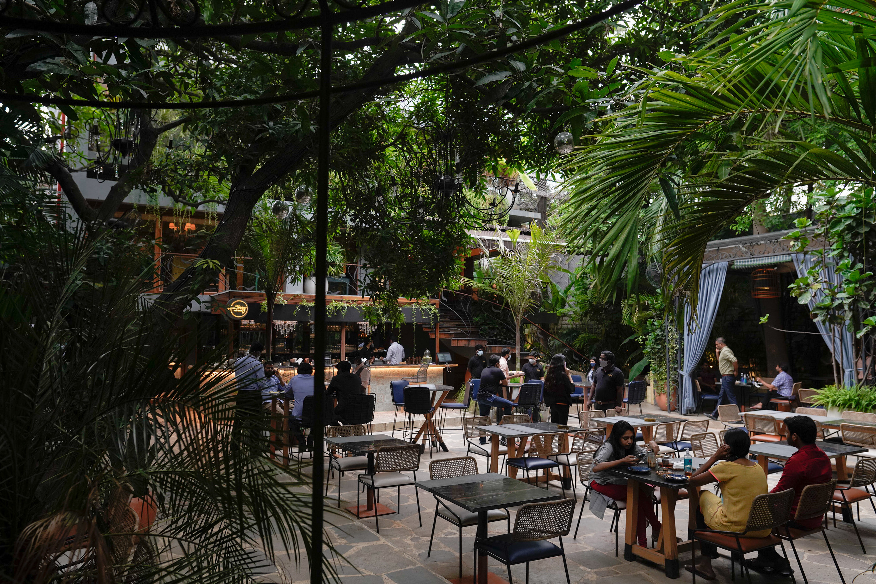 The Sanctuary Bar Kitchen Outdoors On Behance