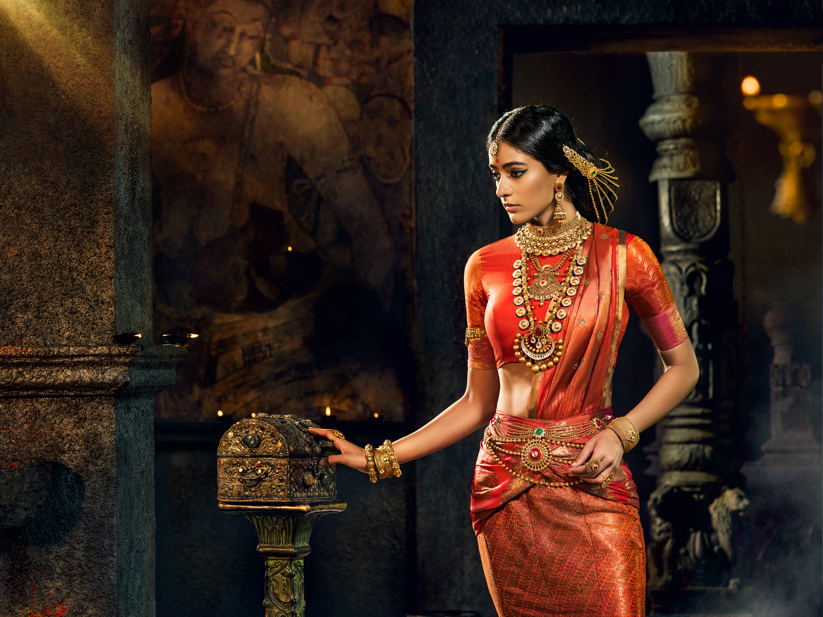 Malabar Gold & Diamonds Brides Of India 2017 - GUPTA on Behance
