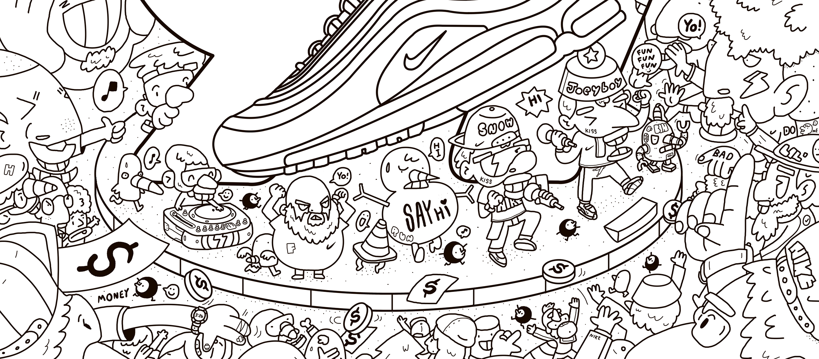 NIKE AIR MAX DAY x 3LAND on Behance