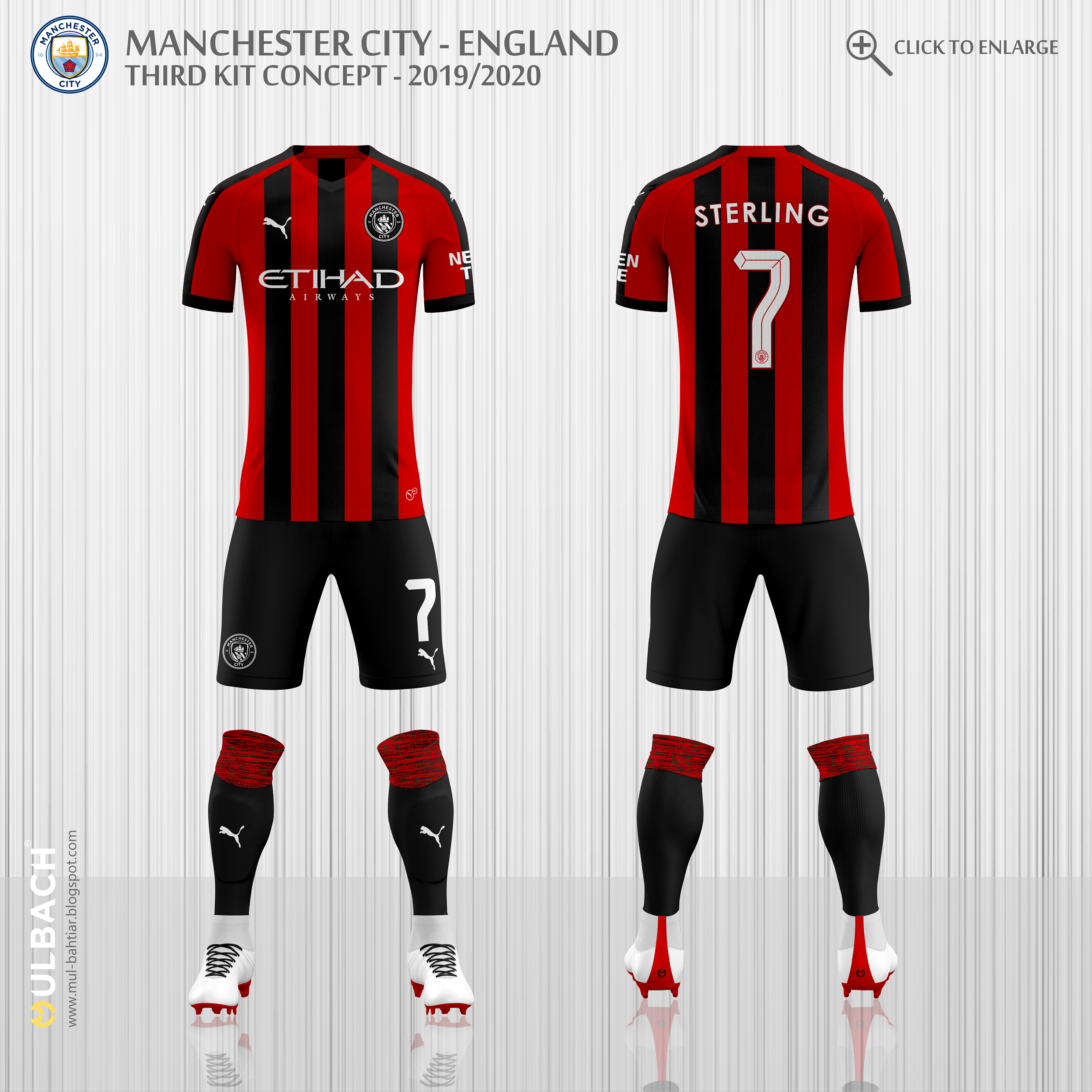 new products f9813 bb6db Manchester City 2019/2020 Puma Kits Concept on Behance