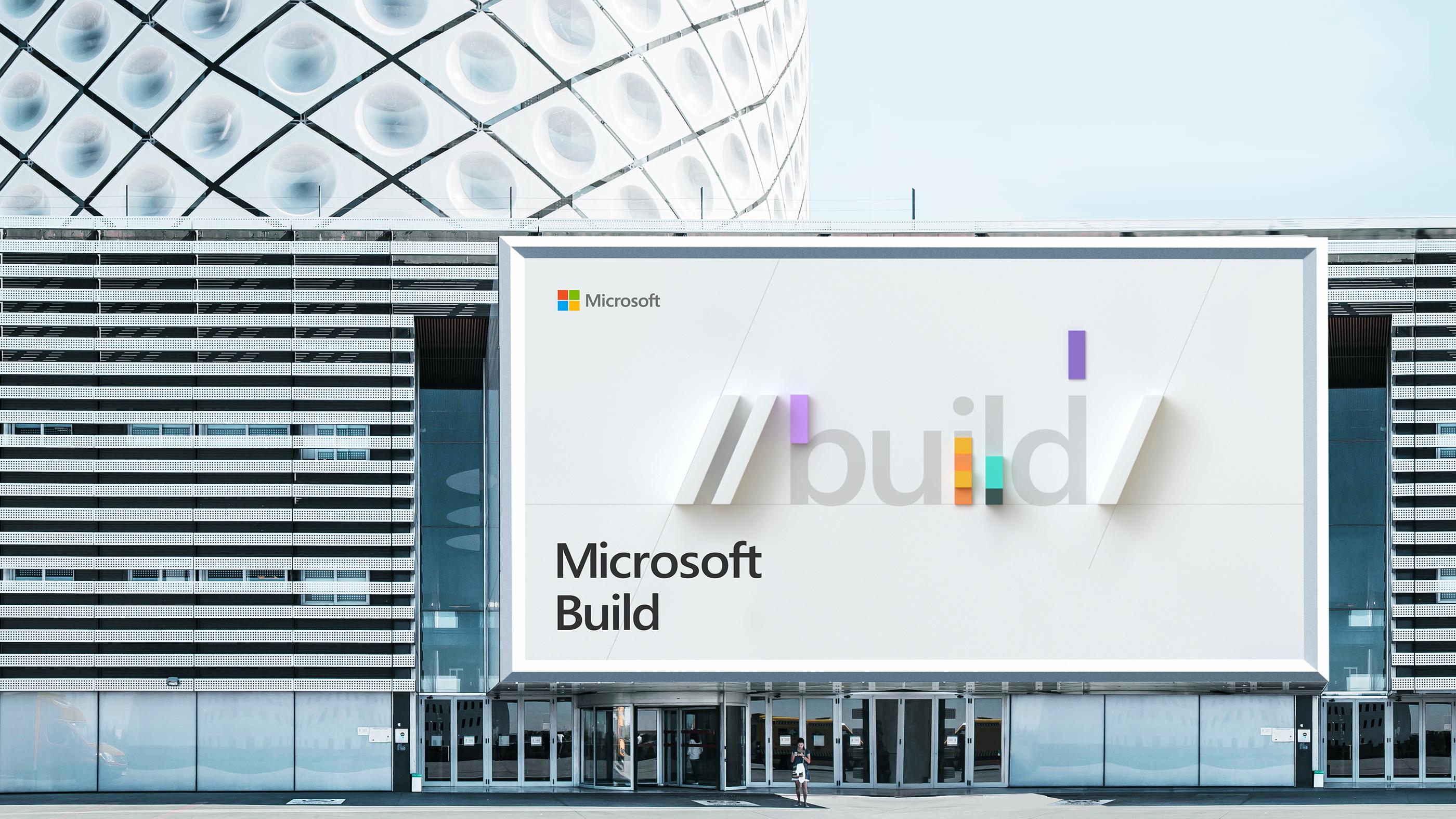 3D & Motion Design for Microsoft Build Developer's conference