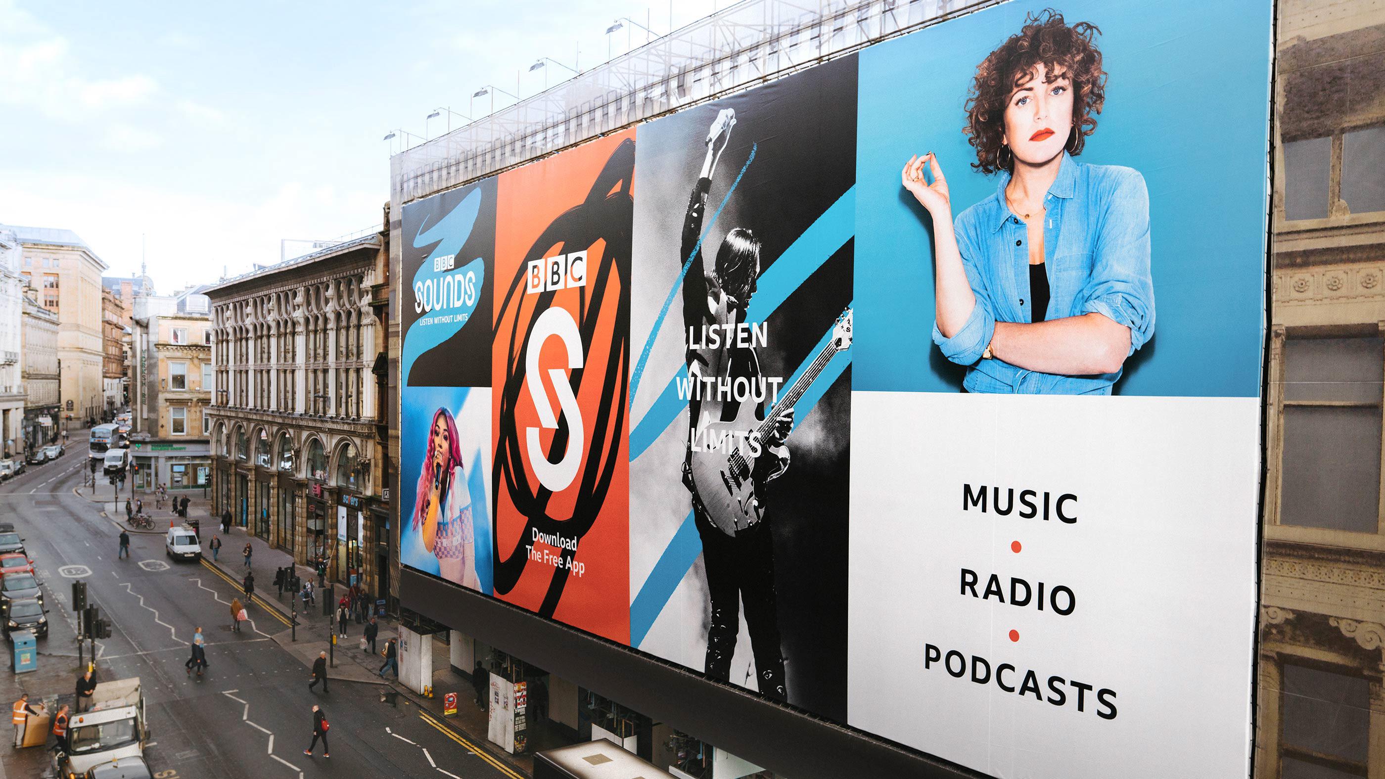 BBC Sounds on Behance