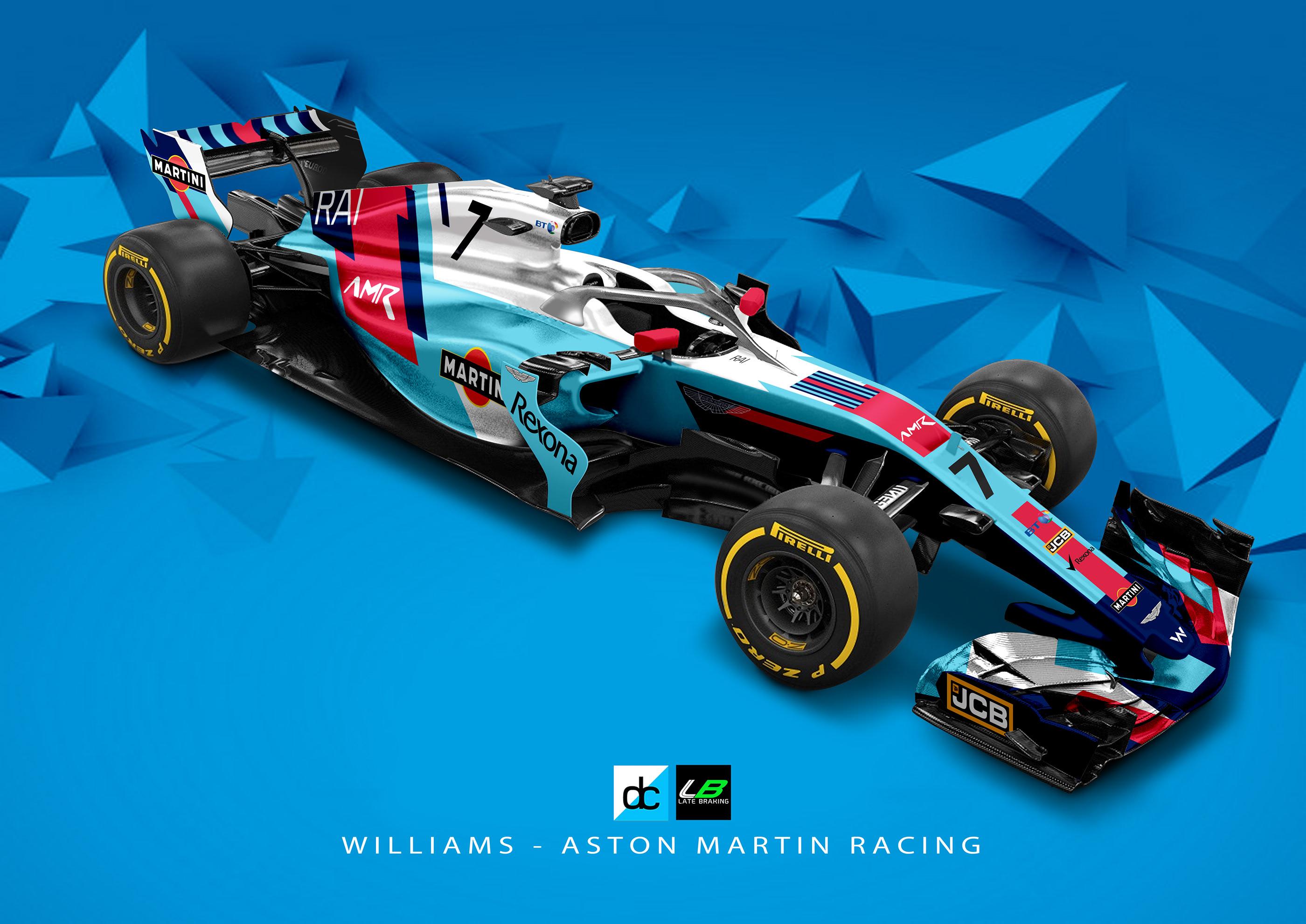 Williams Aston Martin Racing Concept Latebraking On Behance