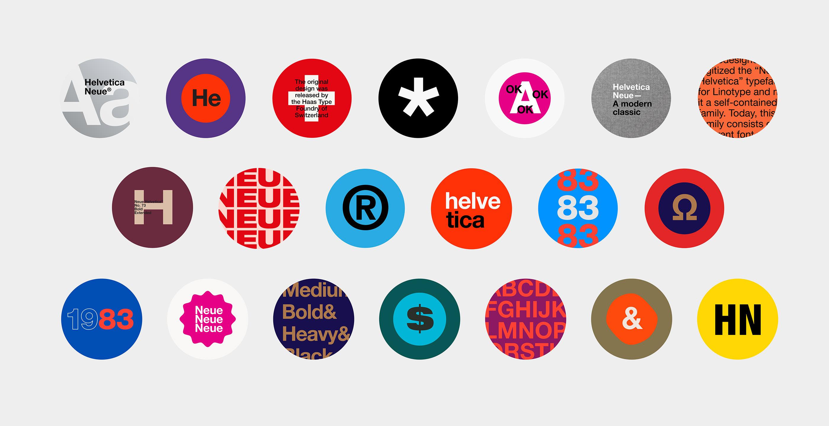 Monotype Neue Helvetica Specimen on Behance