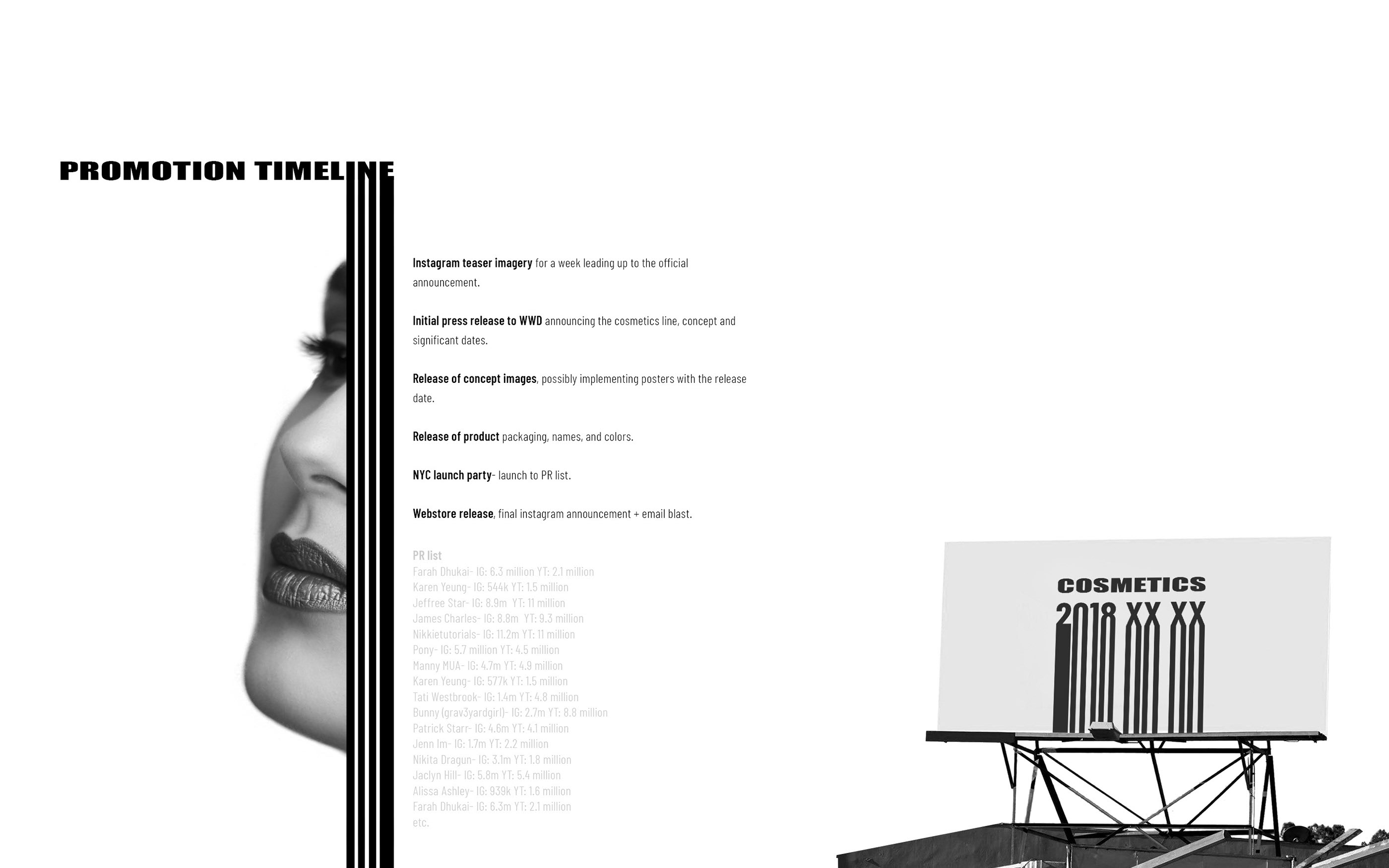 Cosmetics by Alexander Wang | Mock Brand Extension on Behance