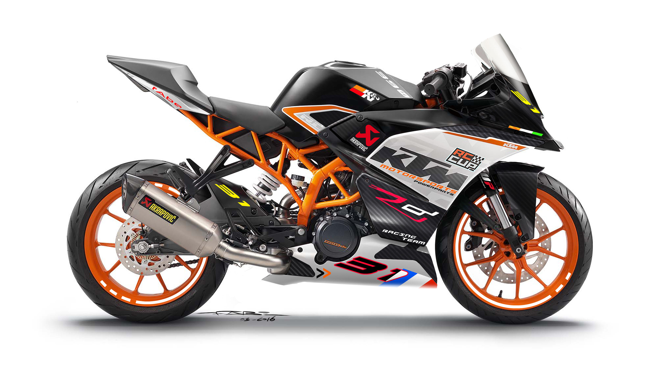 Ktm Rc Cupspeciale On Behance