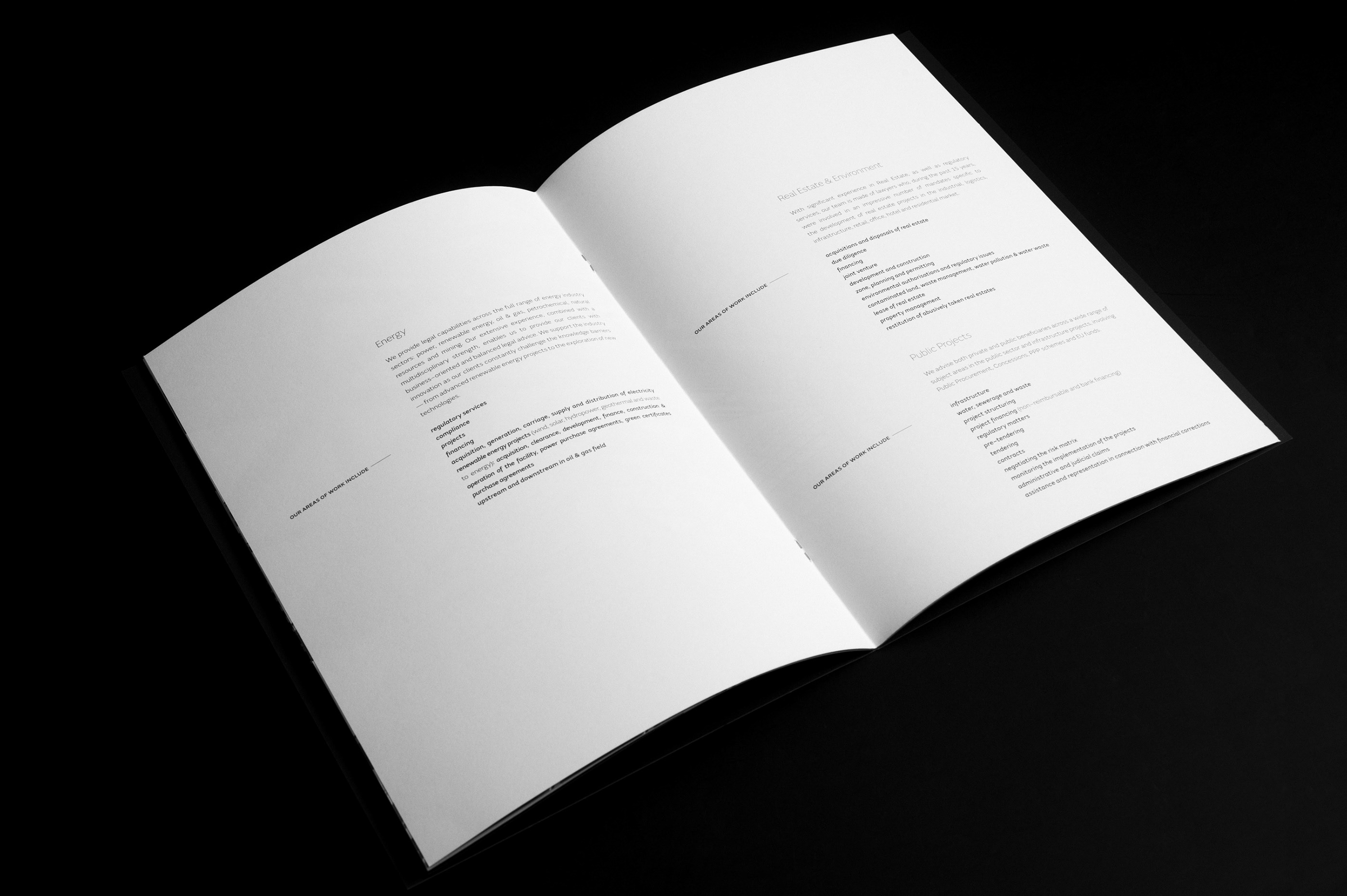 Vilau & Associates / Brochure on Behance