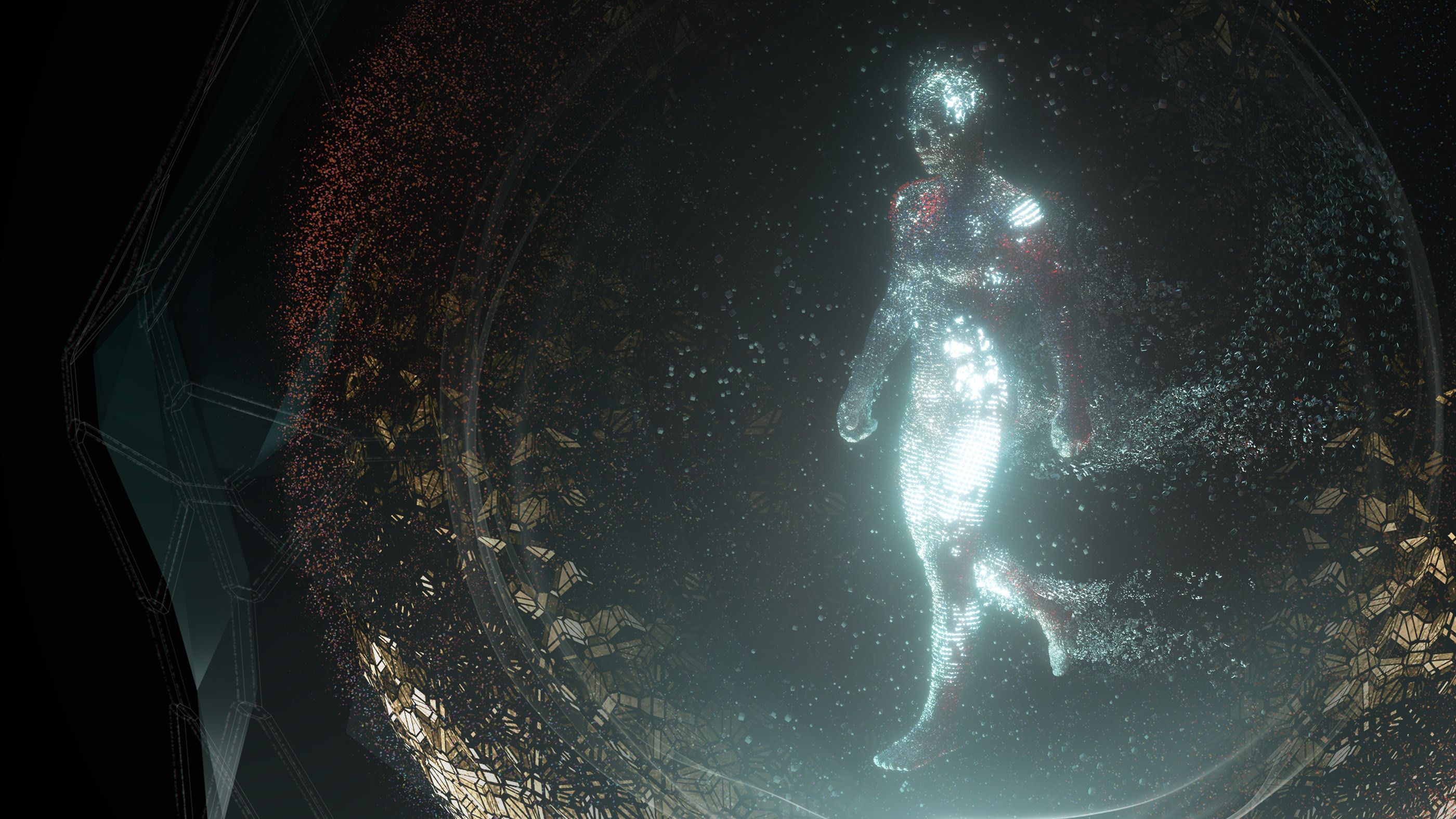 Ghost In The Shell Vfx Motion Graphics Concept Art On Behance