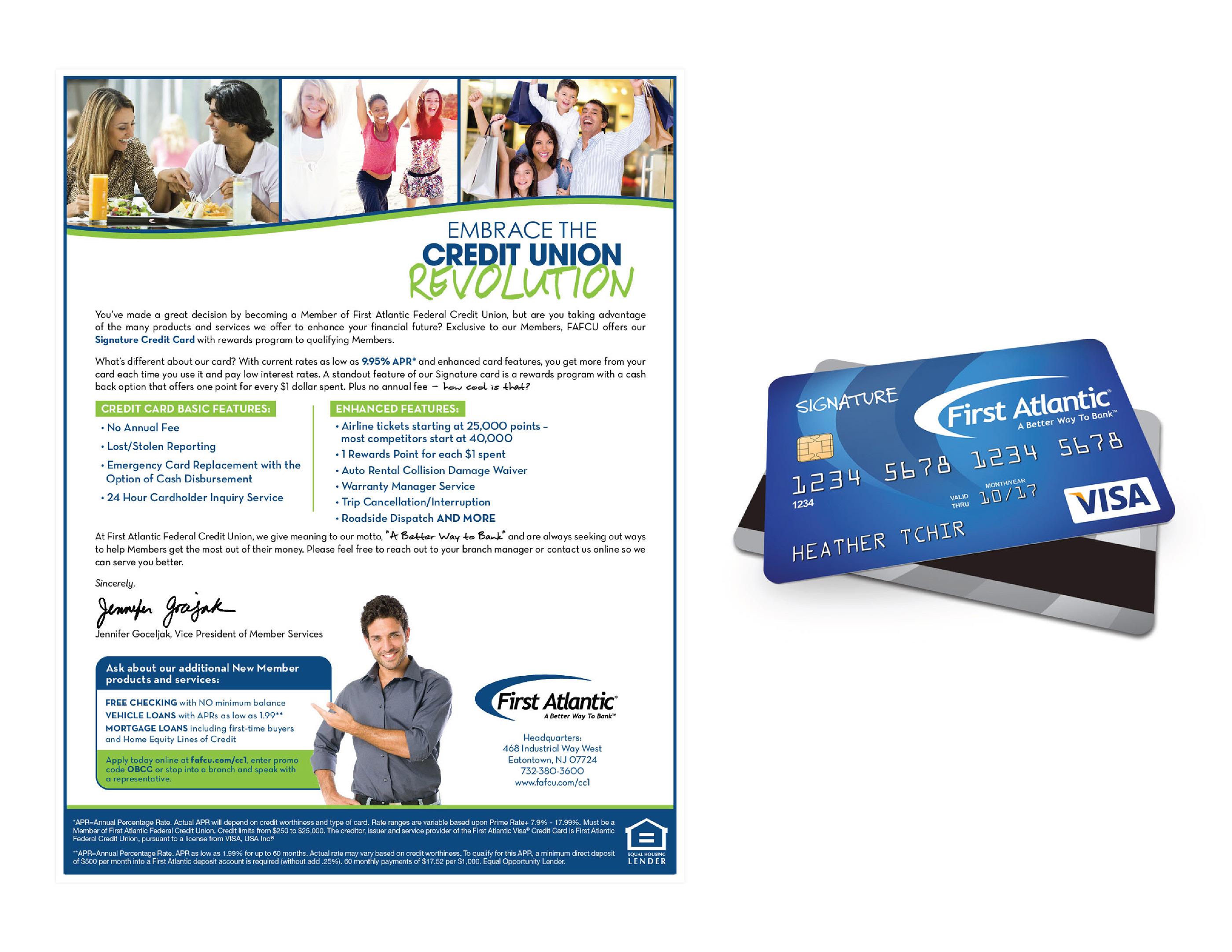 Atlantic Federal Credit Union >> First Atlantic Federal Credit Union Campaign On Behance
