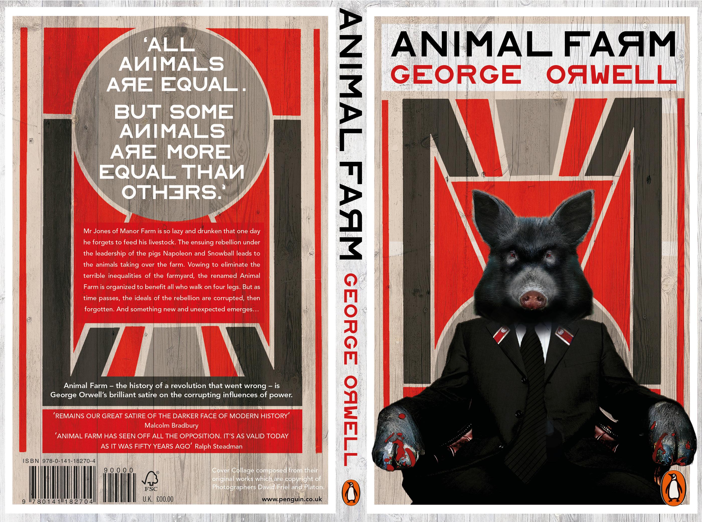 Animal Farm Book Cover Design On Behance