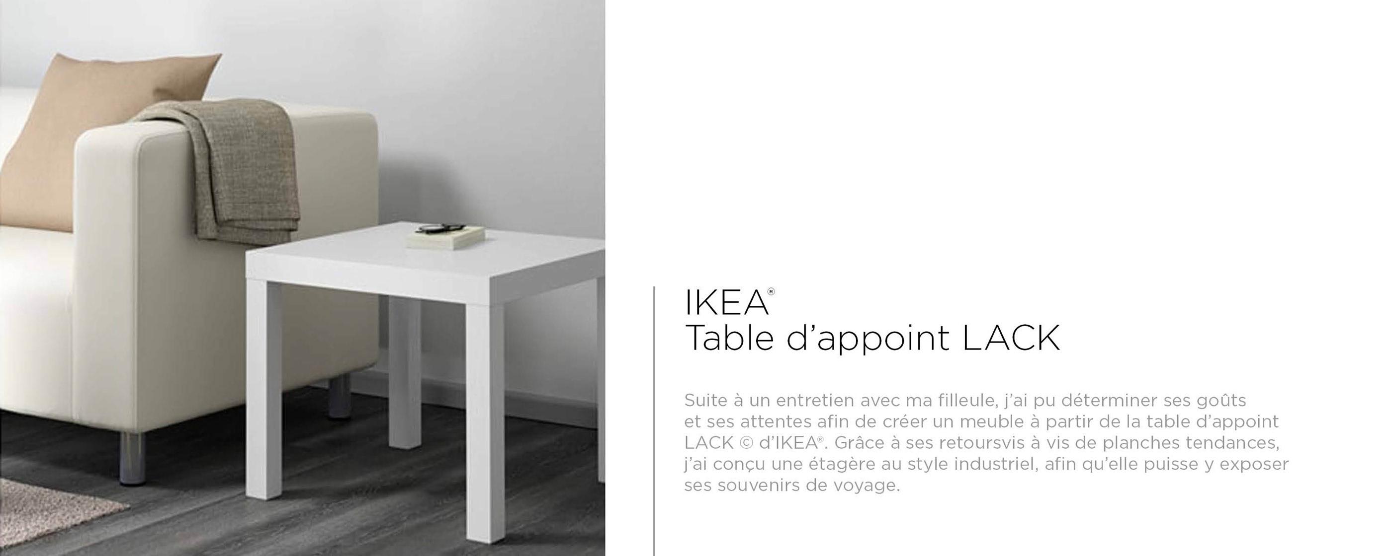 Table Lack IKEA® on Behance