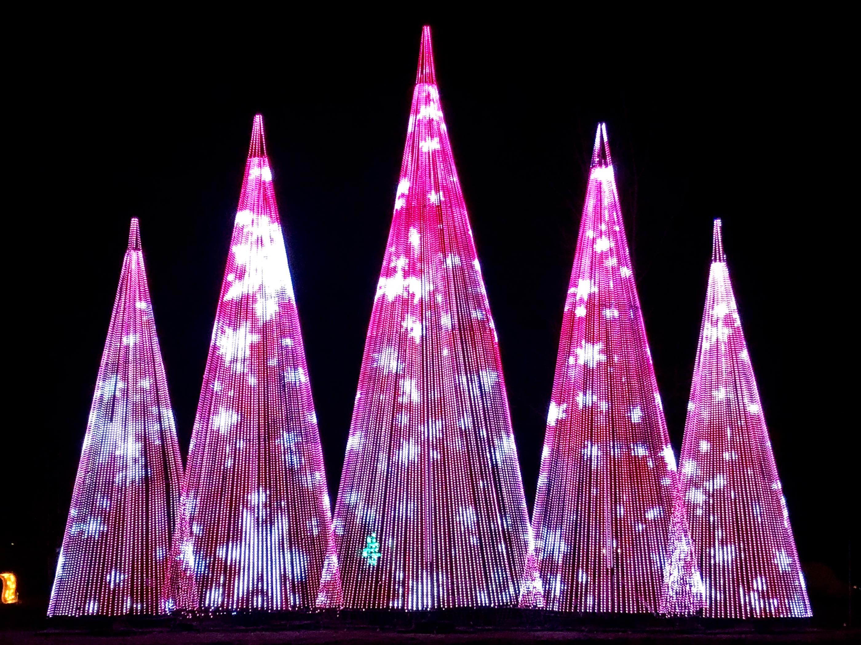 60 Tall Led Rgb Video Christmas Tree Show On Behance