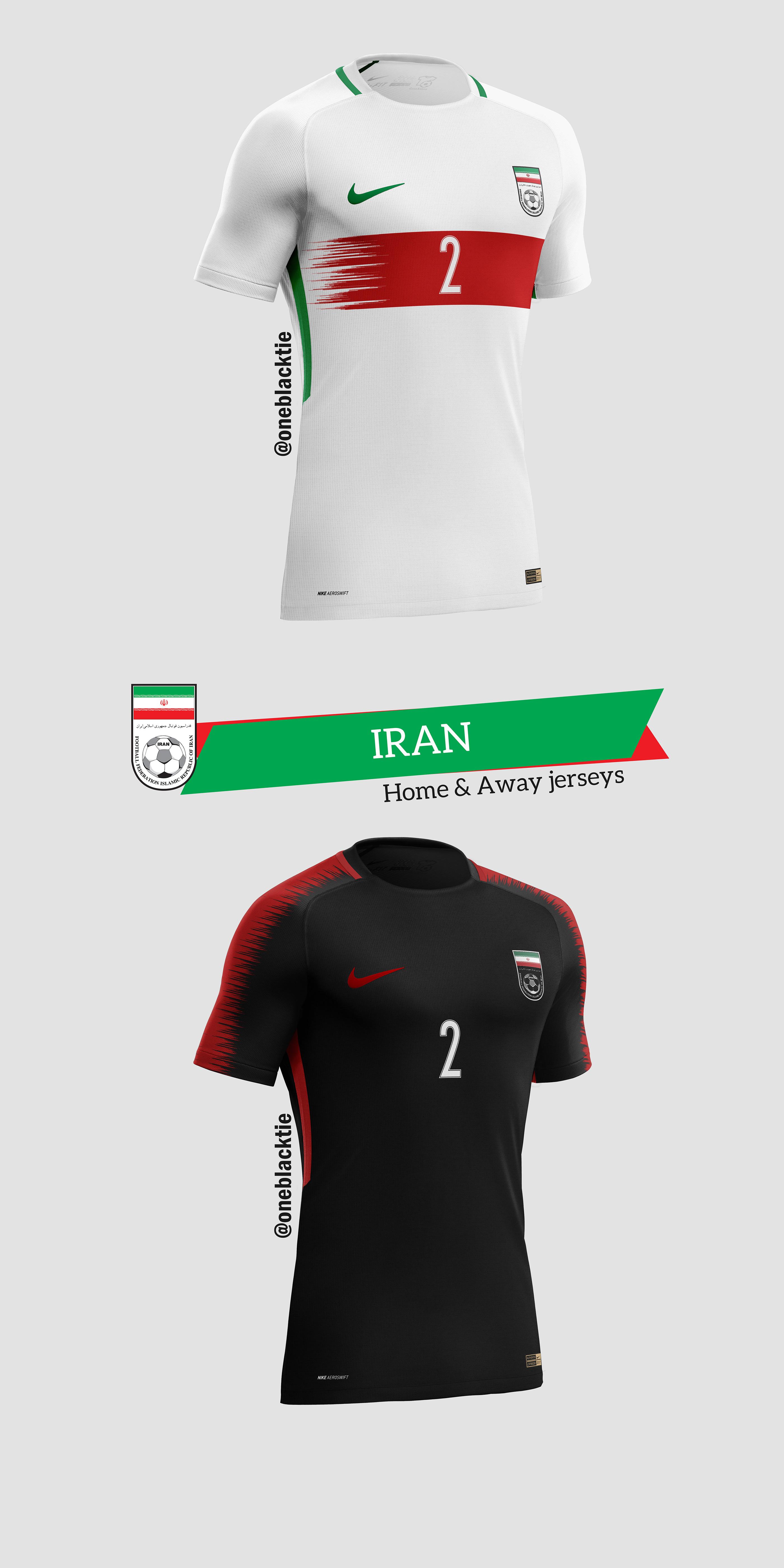 75ba7fdd7 Nike FIFA World Cup Russia 2018 Concept Jerseys on Behance