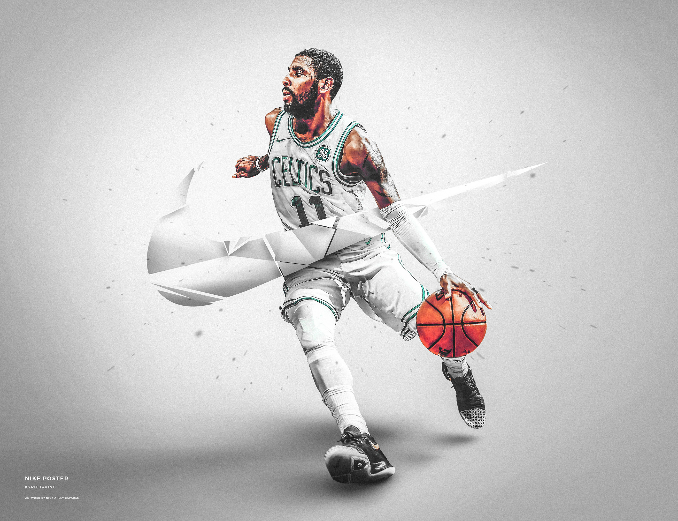 Nike Wallpaper Kyrie Irving Pc Mac Iphone Android On Behance