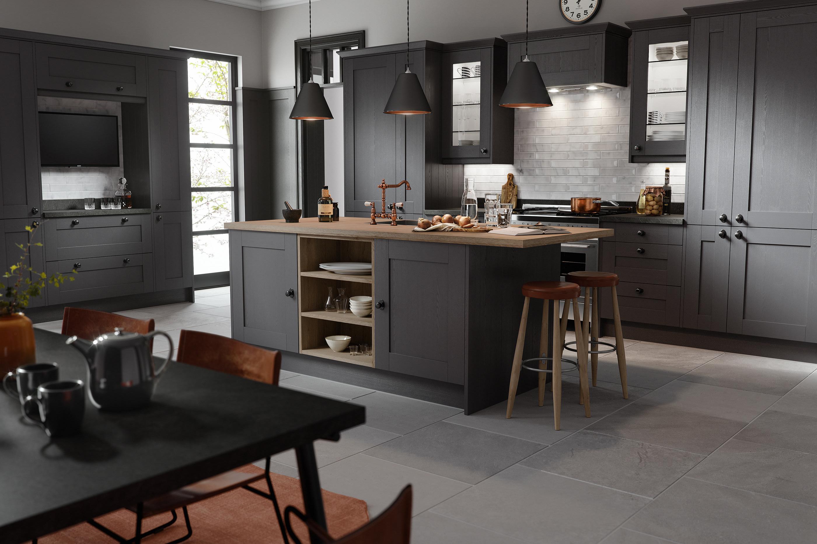 Wren 9 CG Kitchen Projects on Behance