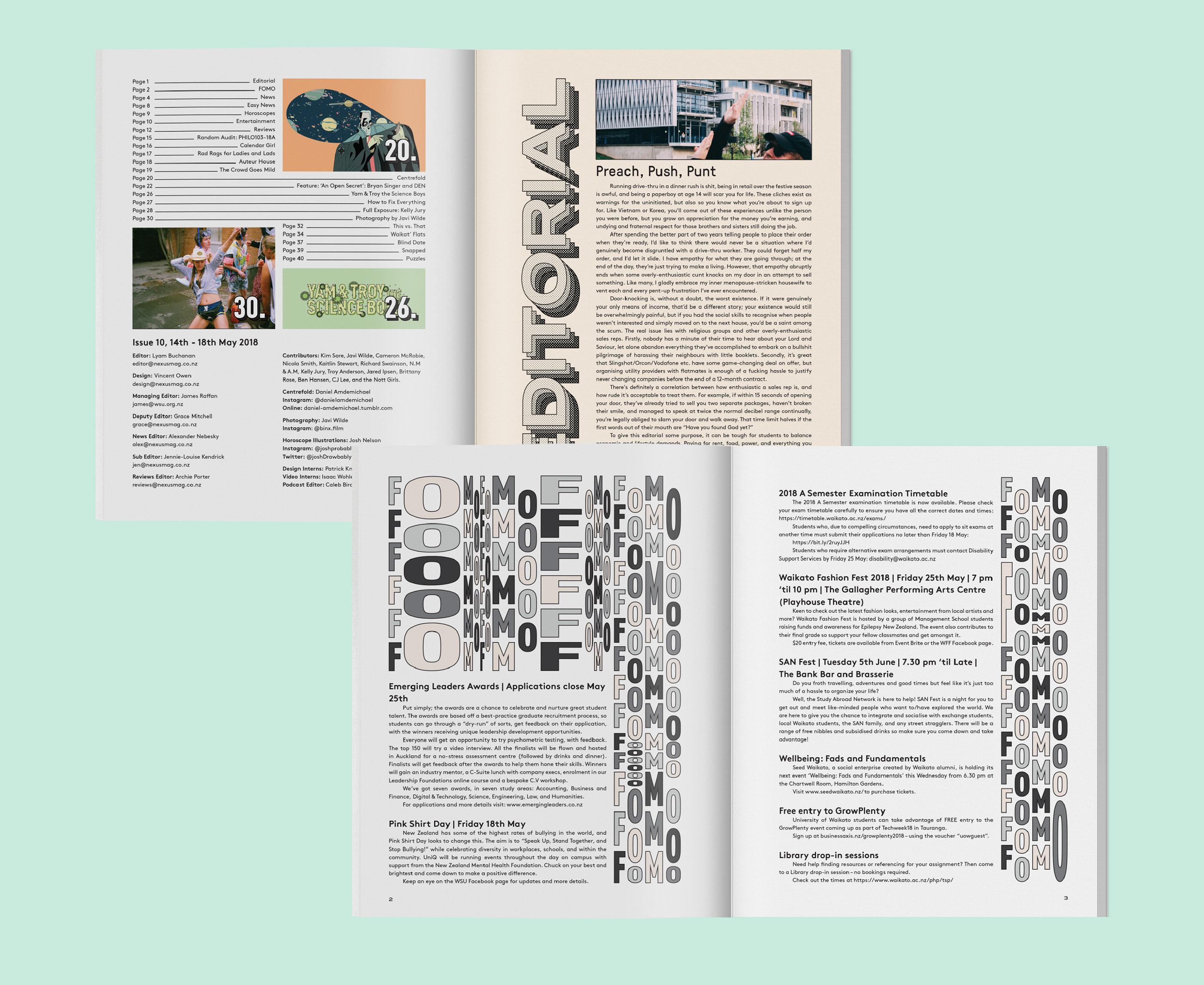 Nexus Magazine Issue 10 on Behance