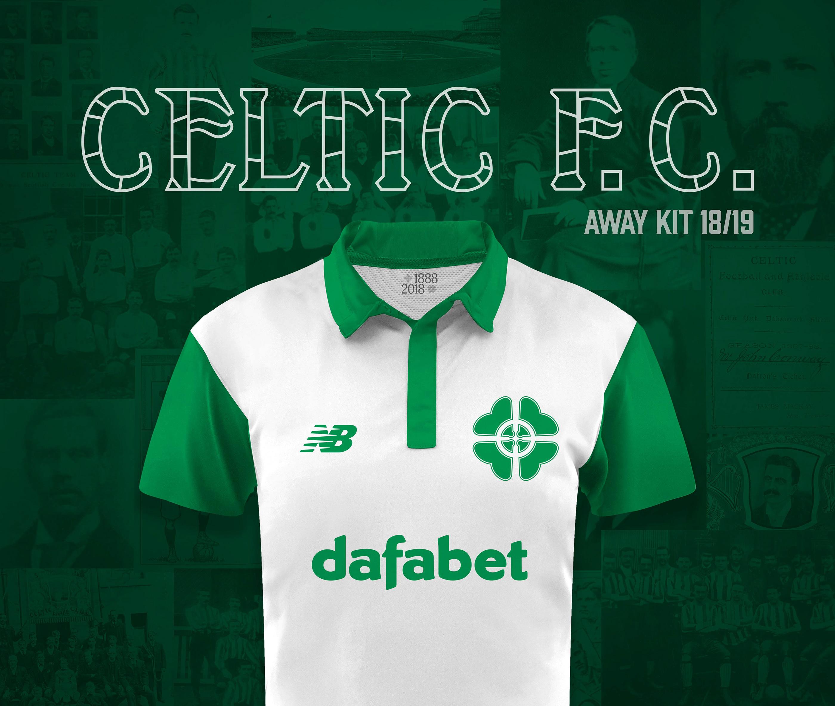 sports shoes c6603 cbff9 Celtic FC New Balance Away Jersey 18/19 Concept Kit on Behance
