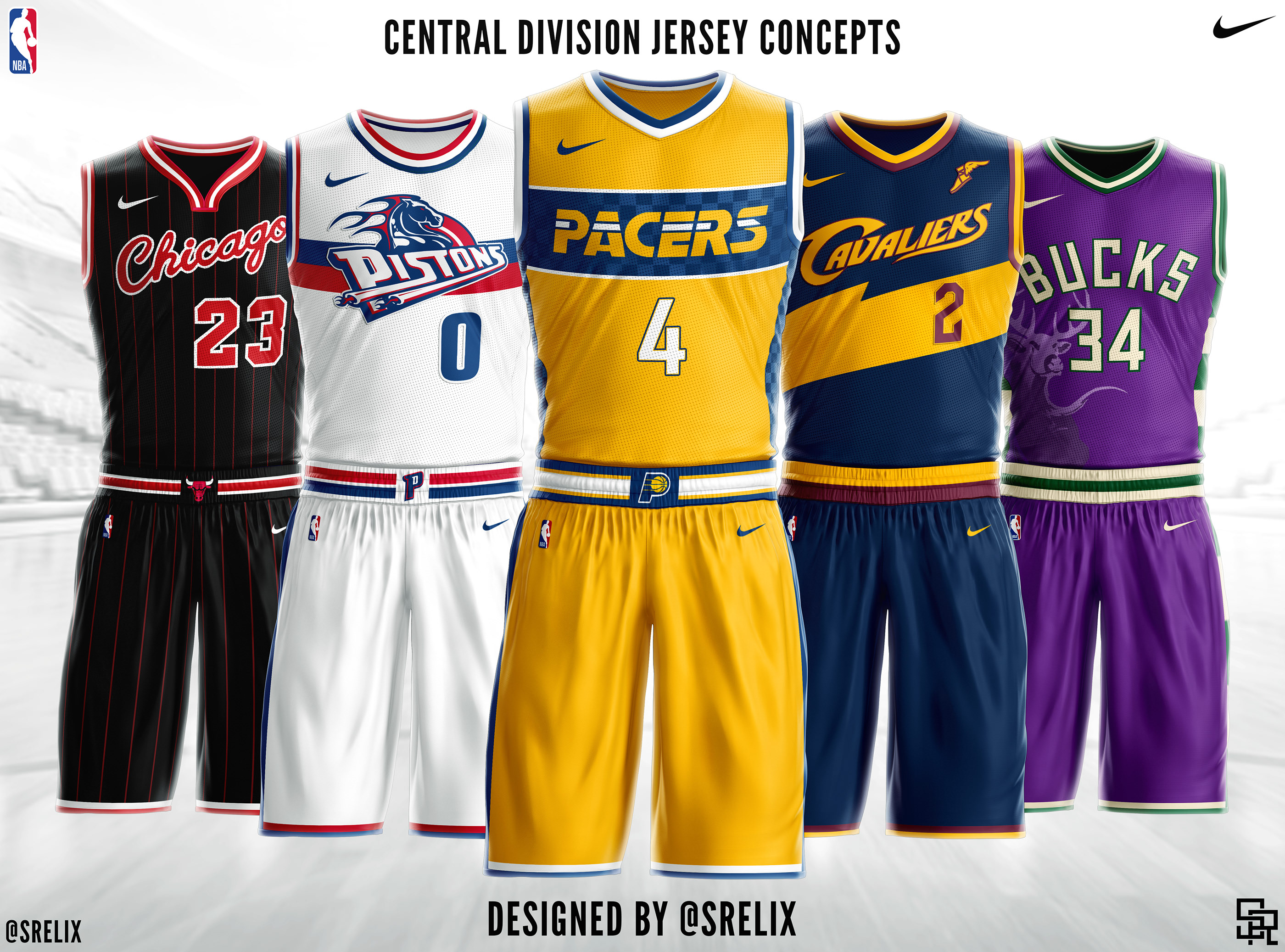reputable site 83801 ea19e NBA Jersey Concepts on Behance