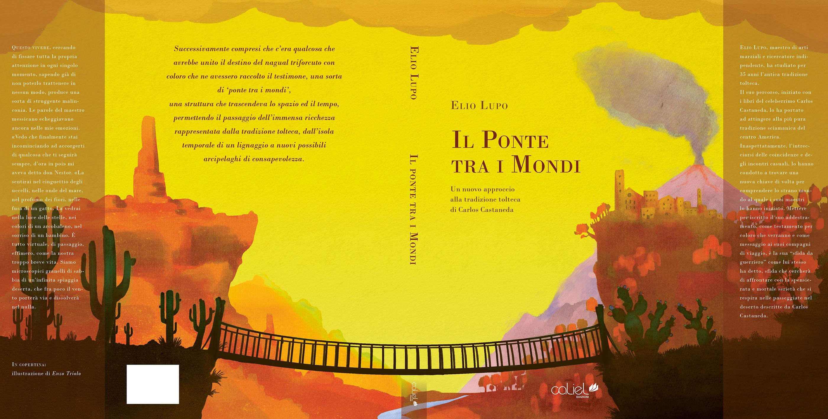 Il ponte tra i mondi | book cover on Behance